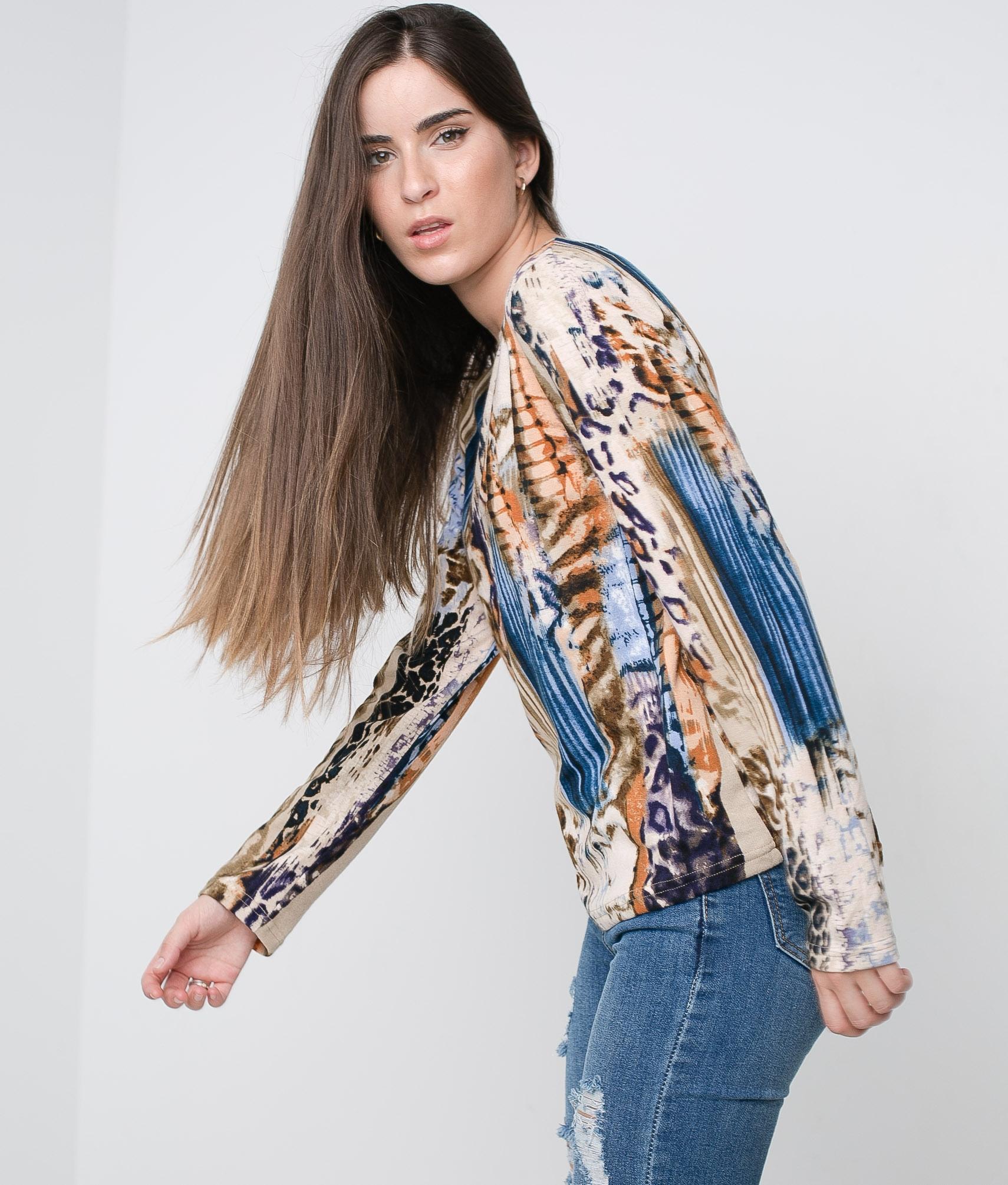 T-shirt Coler - Multicolore