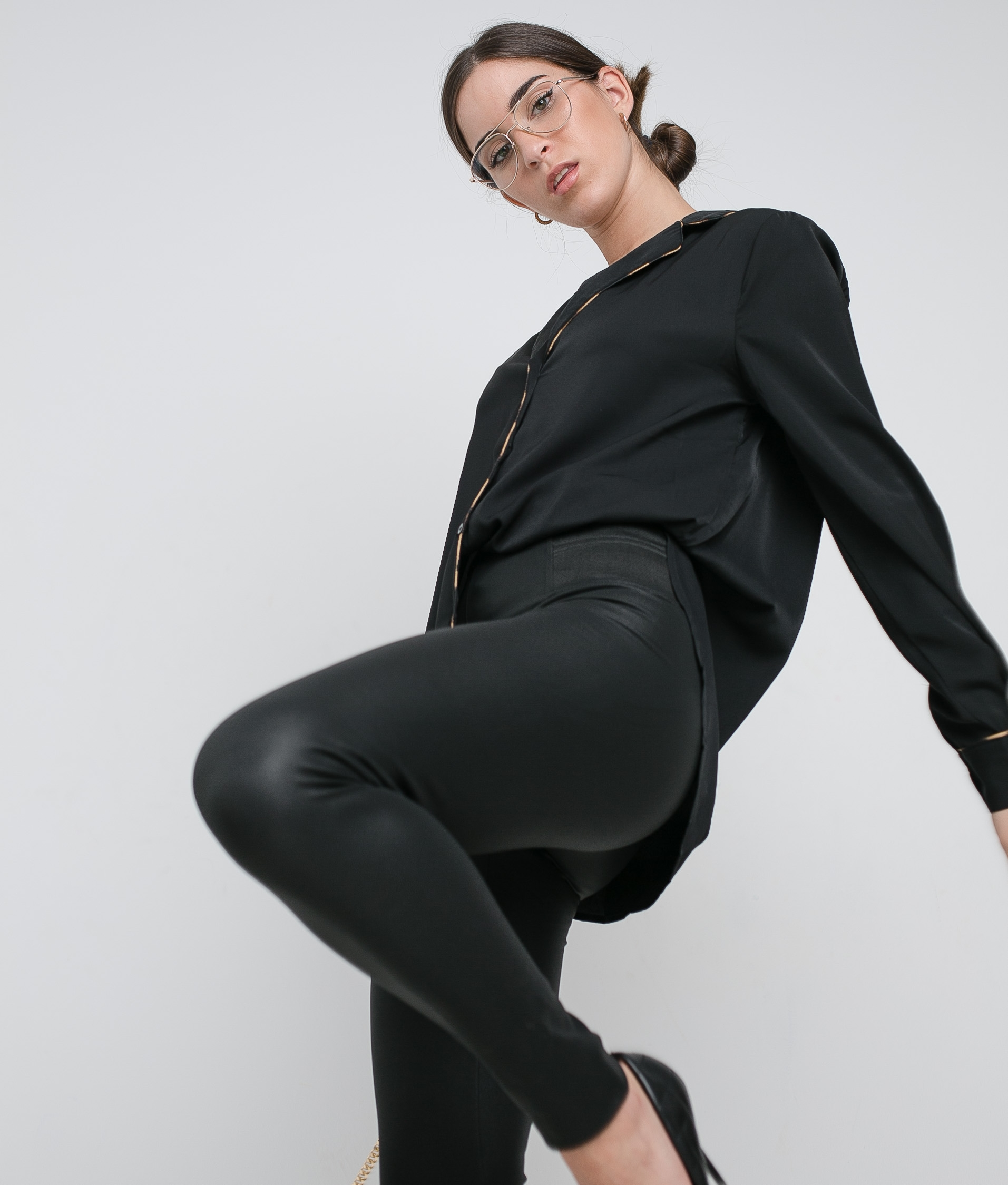 XAMILEI SHIRT - BLACK