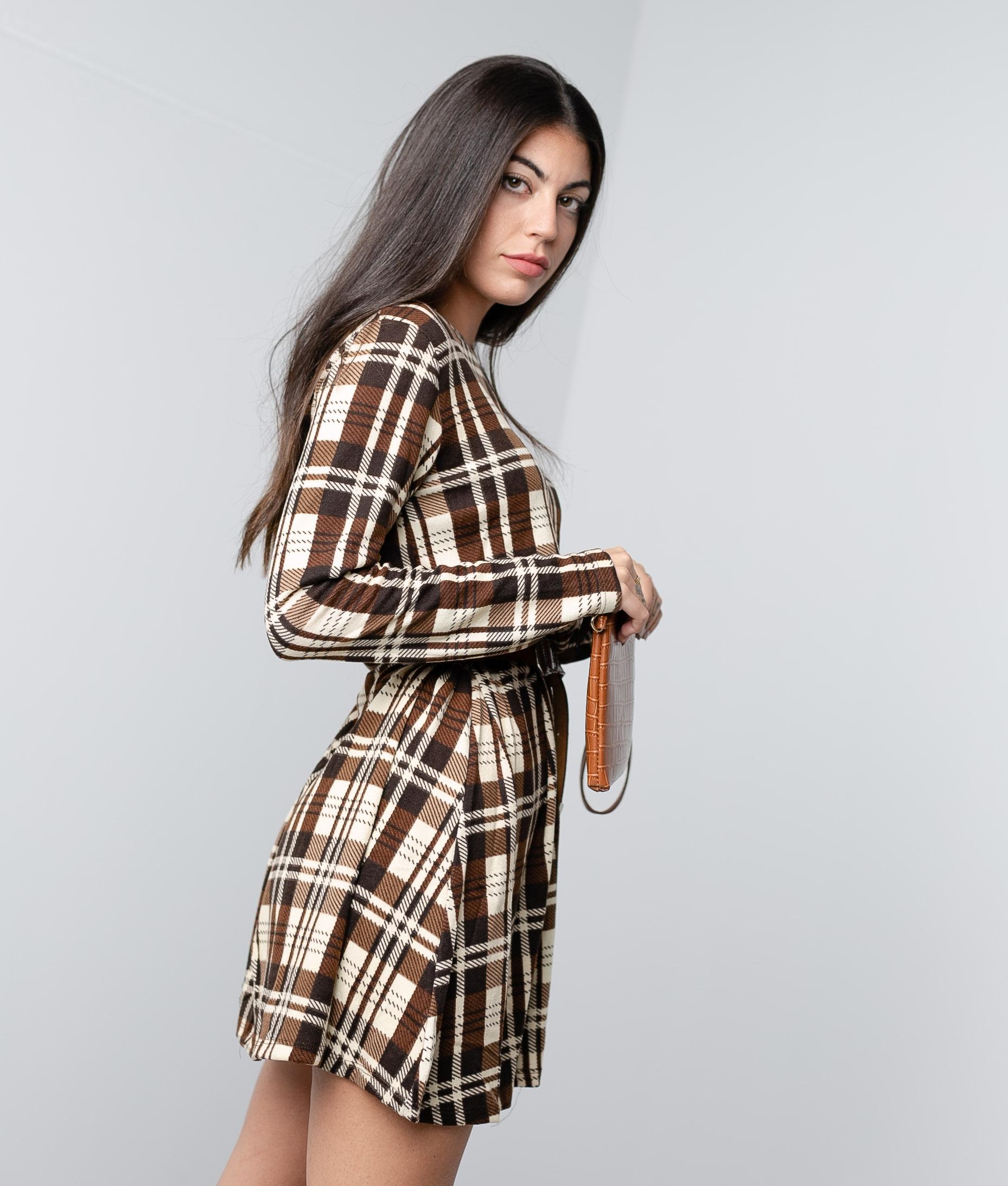 Dress Paroti - Brown