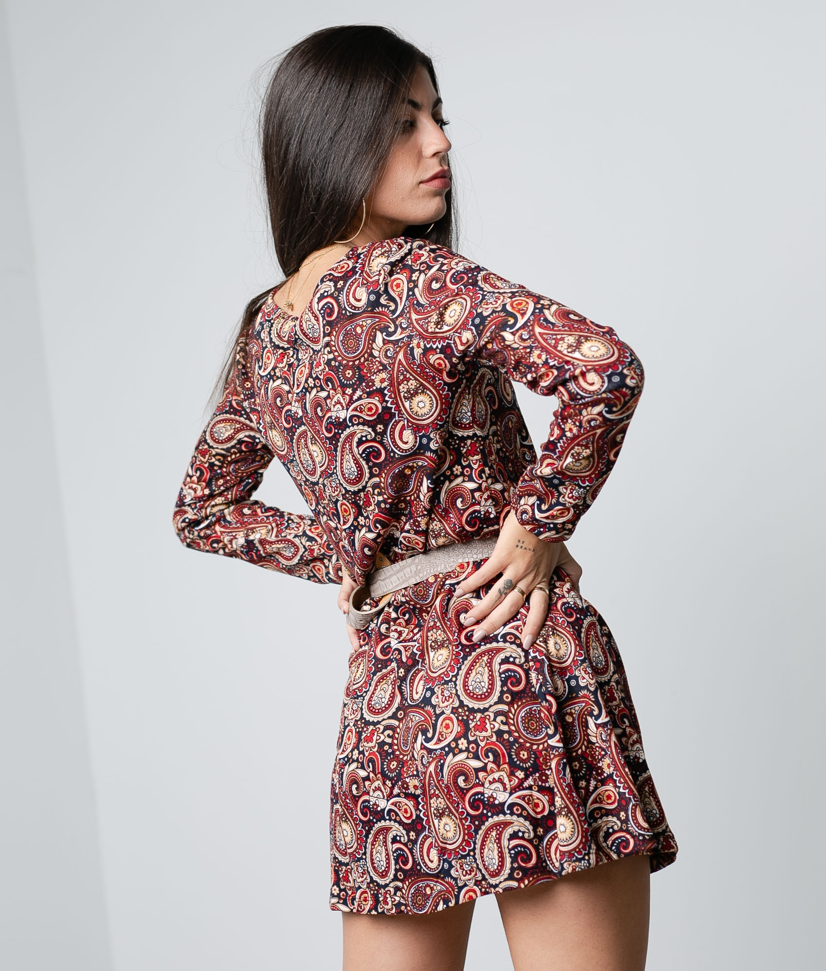 Dress Pasley - Red