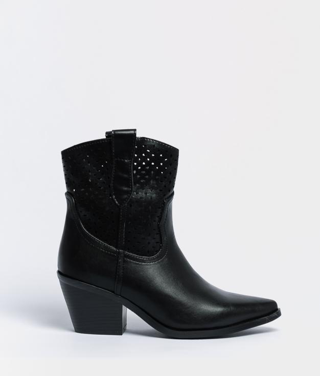 Nerila Low Boot - Black