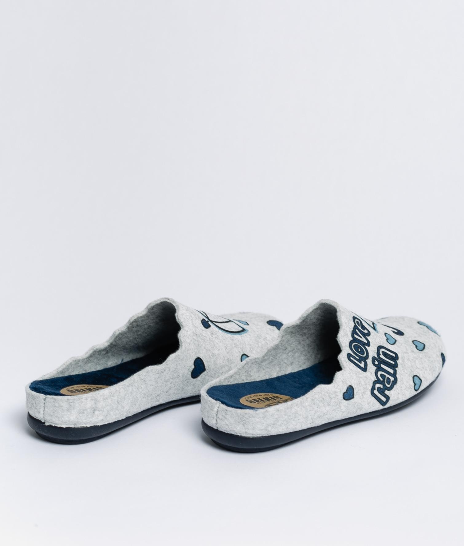RAIN SLIPPERS - DARK BLUE