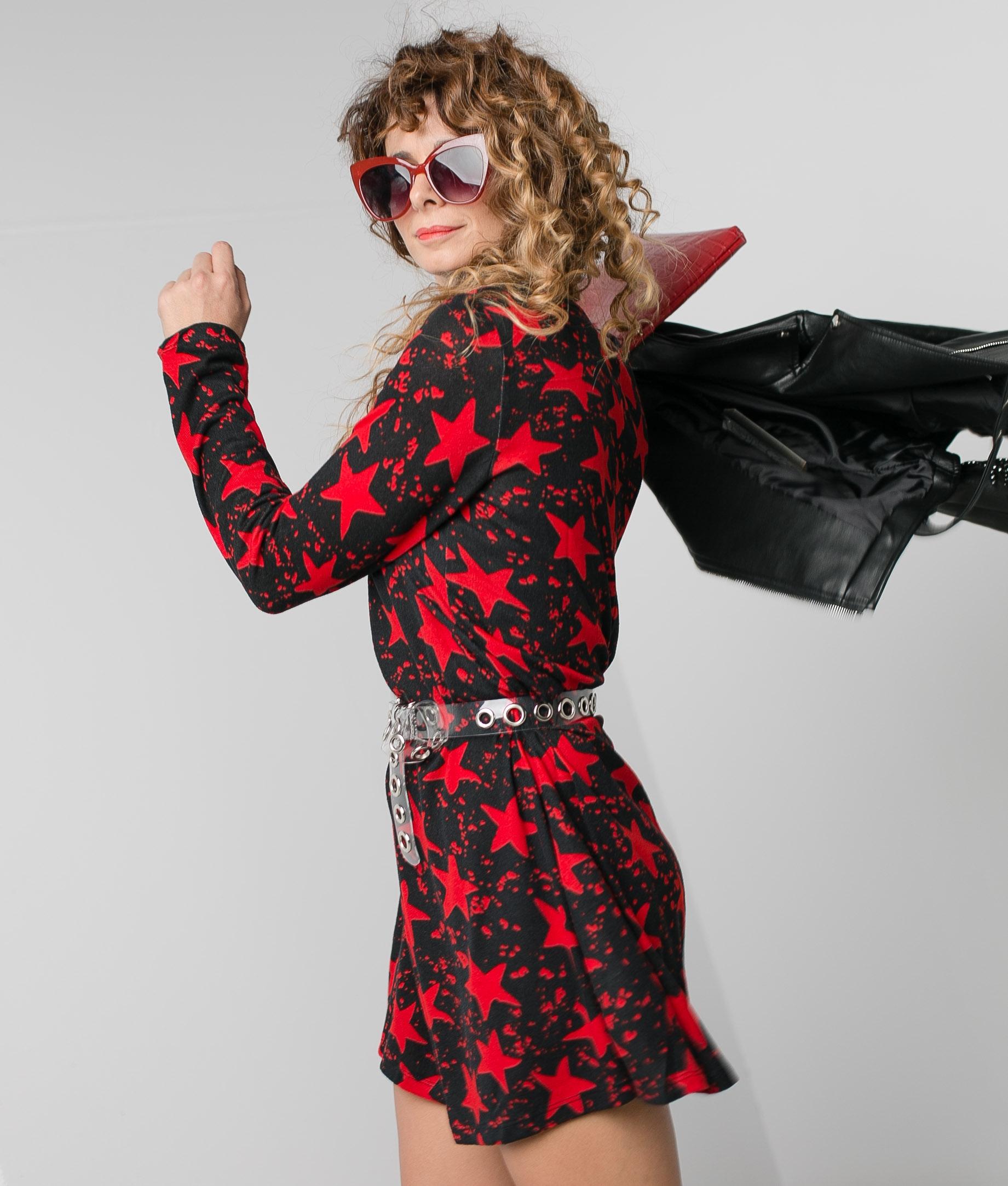 Vestido Die - Rosso