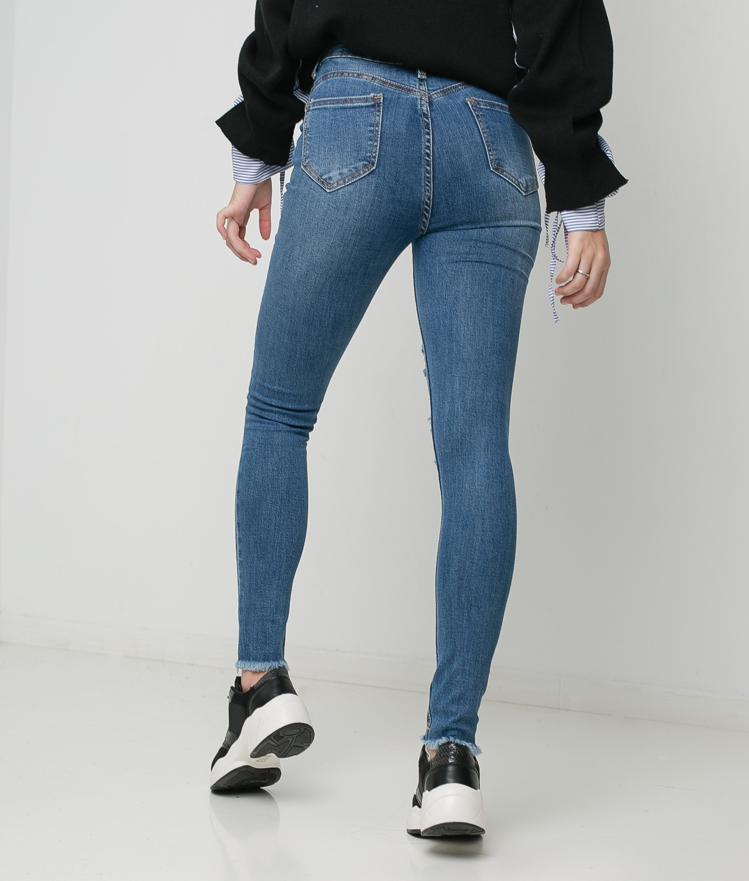 Trousers Loura - Denim