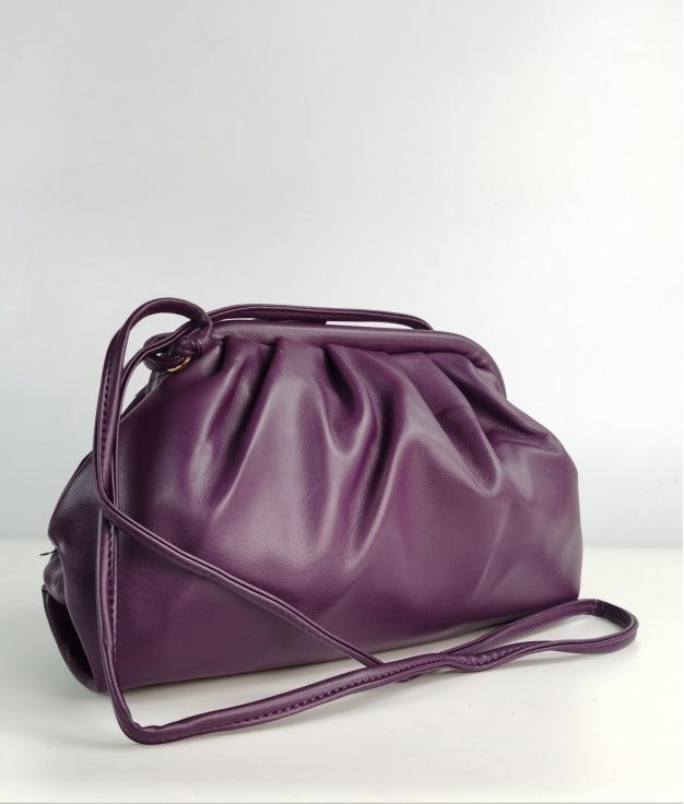 Bandolera Acochado - violet