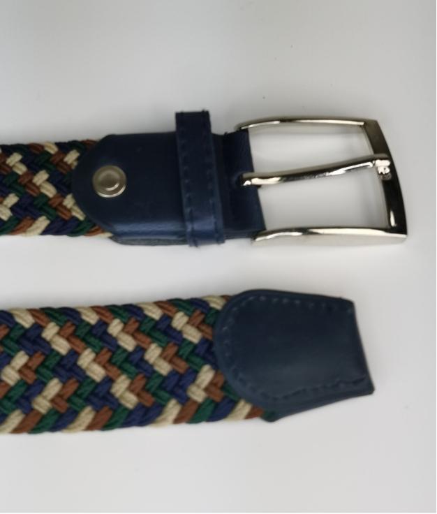 Cinturón elastilo Ela - tricolor verde