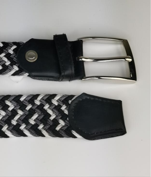 Cinturón elastilo Ela - tris negro