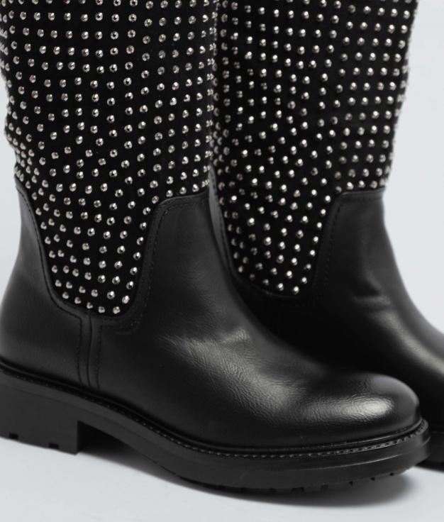 Knee-Lenght Boot Divain - Black