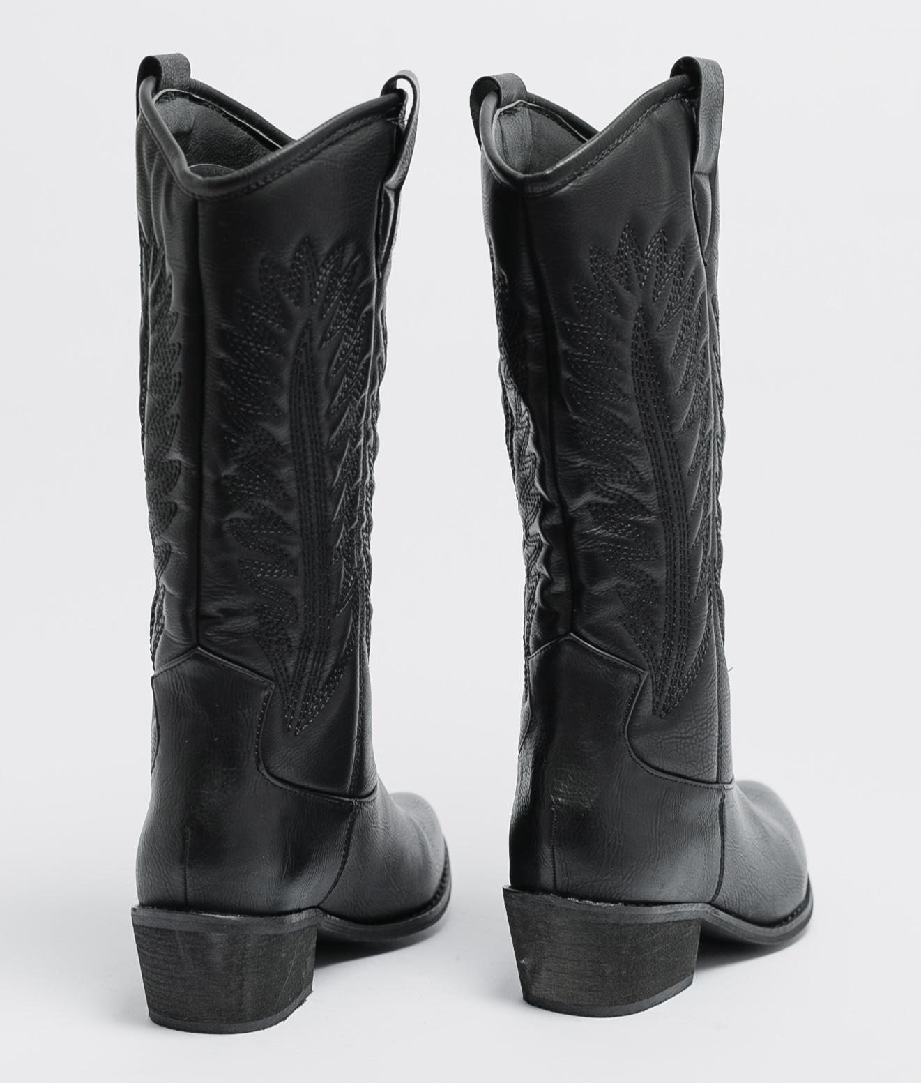 Boot Alta Almia - Noir