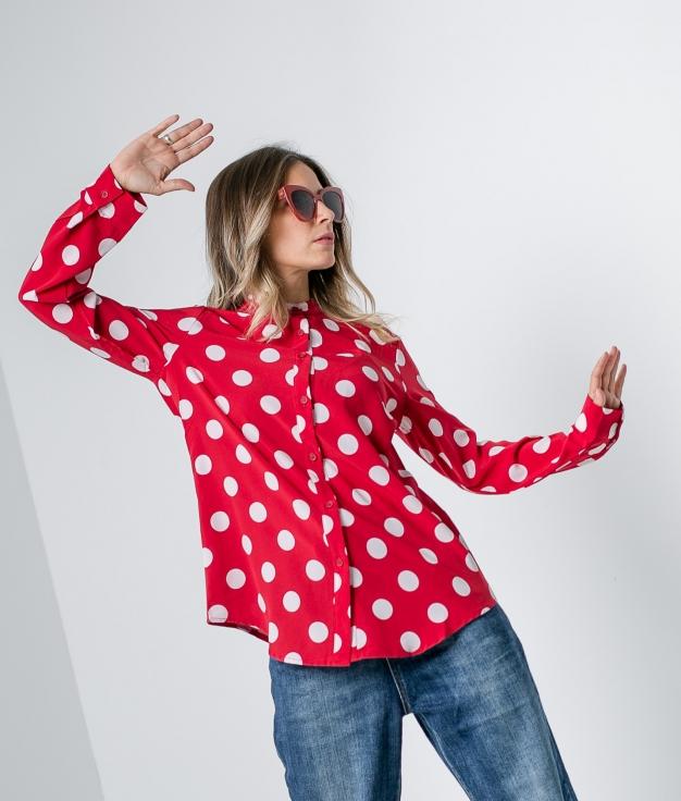 Camisa Calcuta - Vermelho