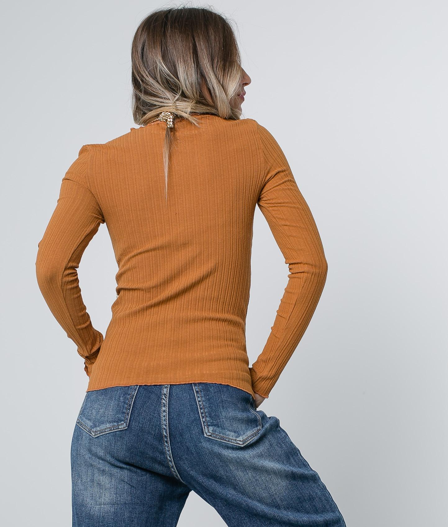 Camiseta Linta - Camelo
