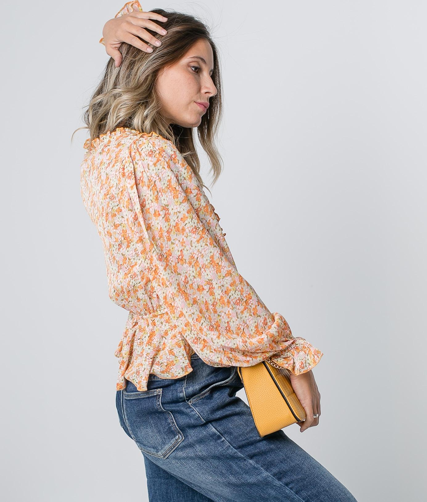 Blusa Rotin - Naranja
