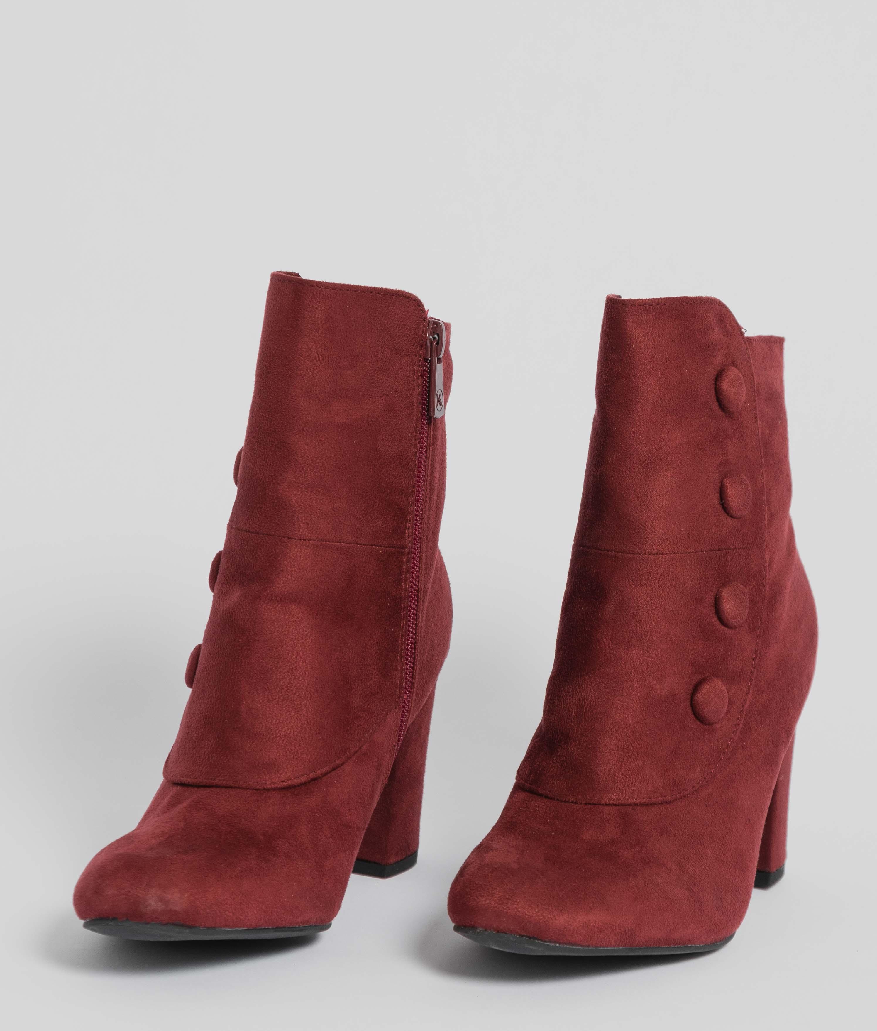 Low Boot Chaplin - Maroon
