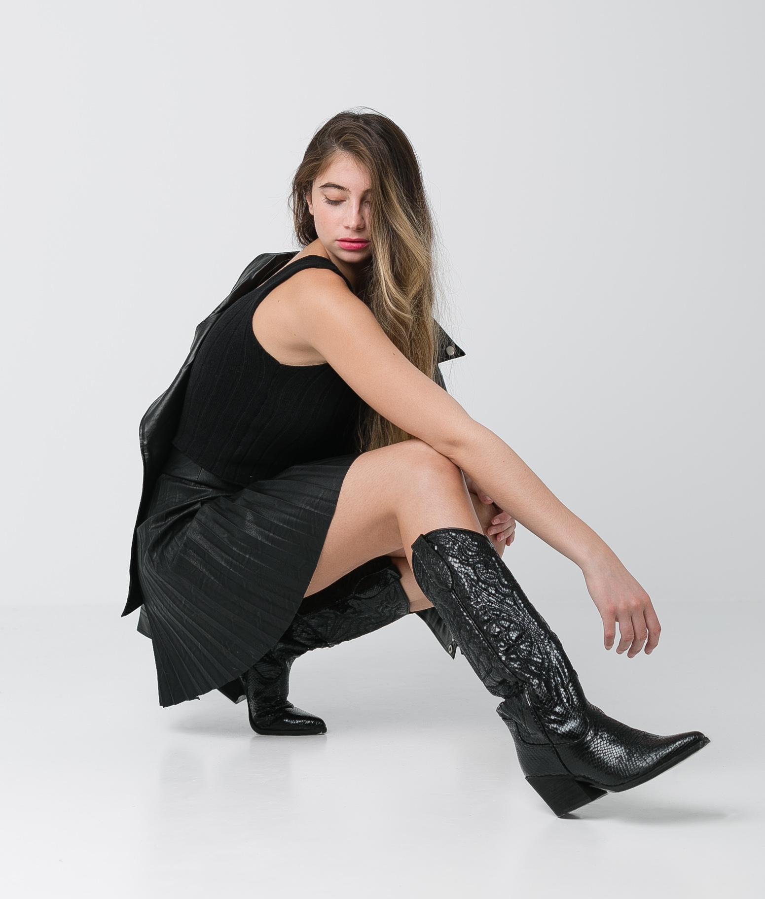 FALDA AUSTEN - BLACK