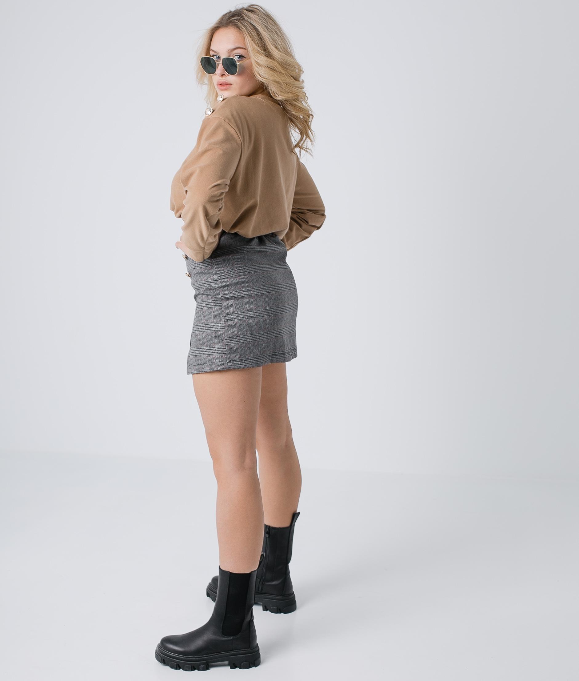 DENDRA SKIRT - GREY