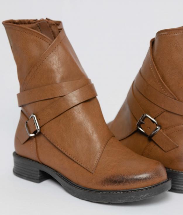 Low Boot Crop - Camel