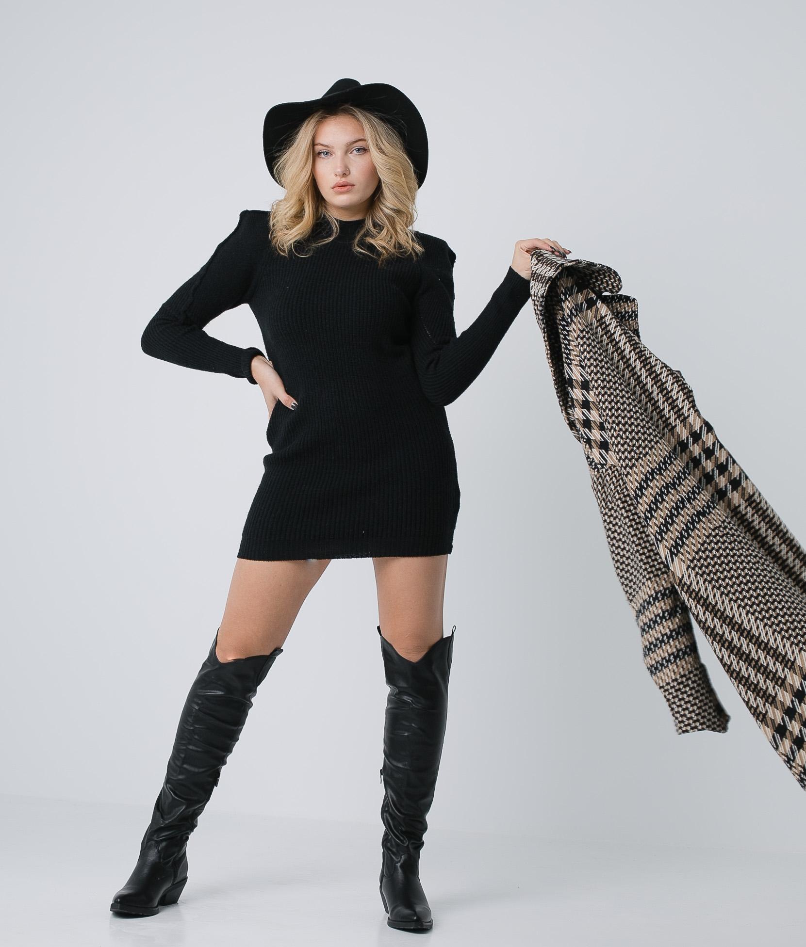 Halo dress - Black