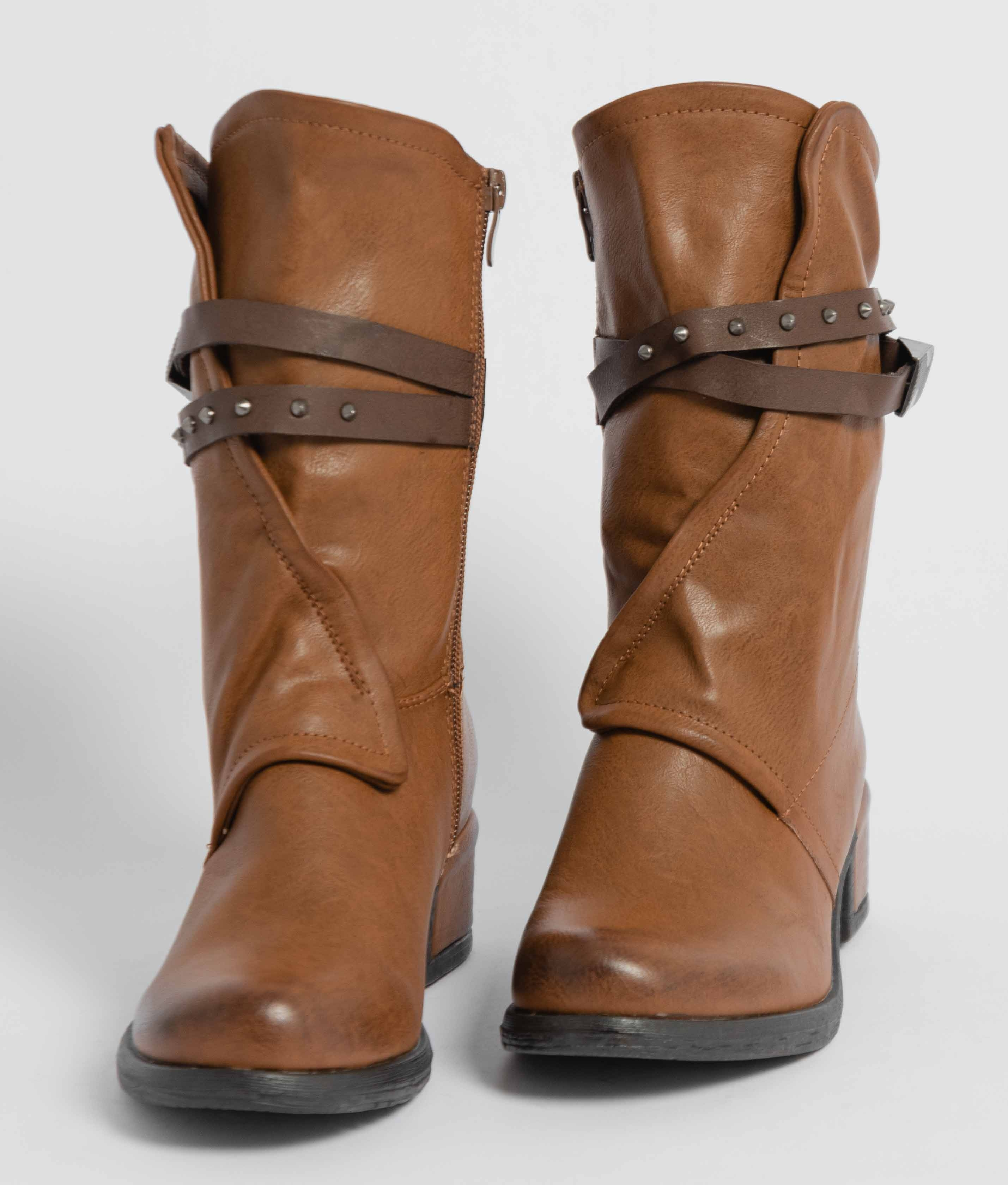 Low Boot Anet - Camel