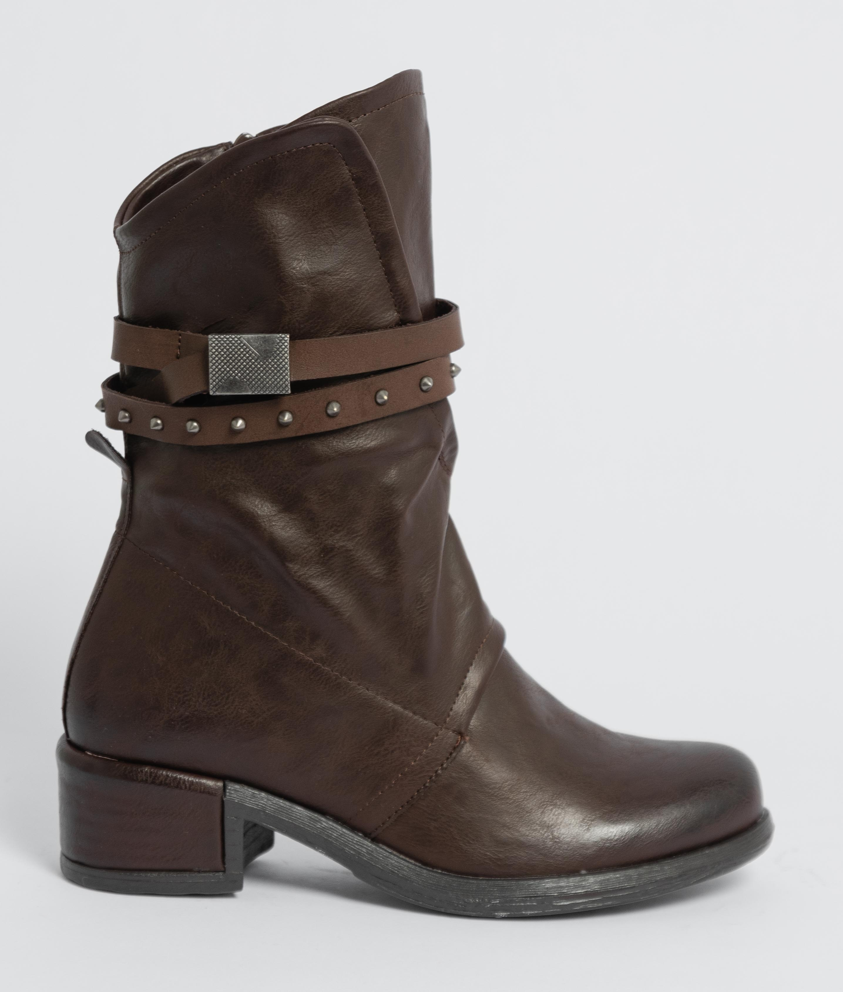 Low Boot Anet - Brown