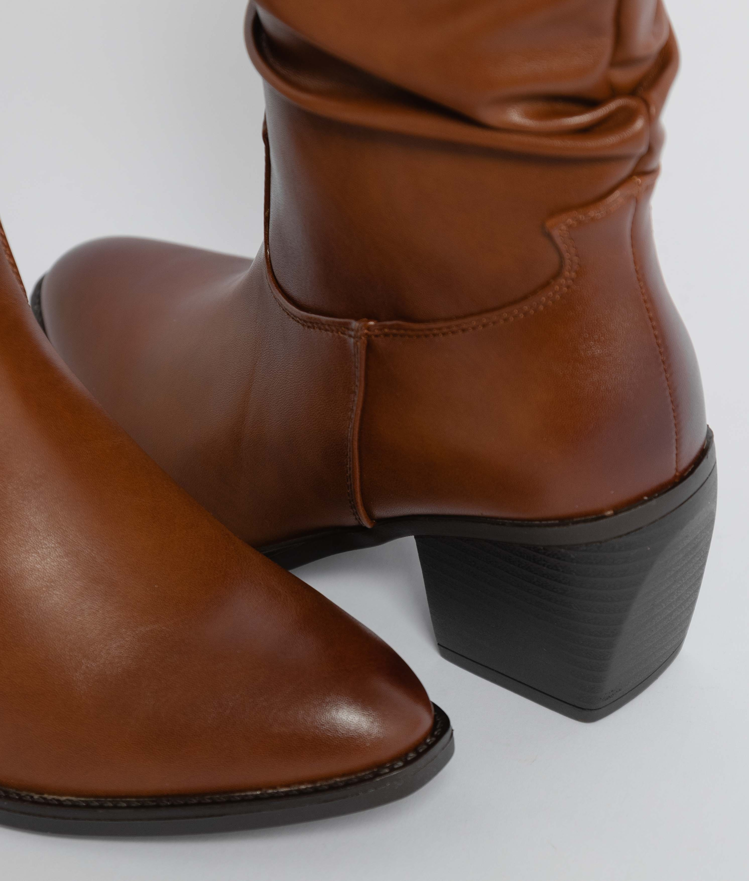 Low Boot Aisa - Camel