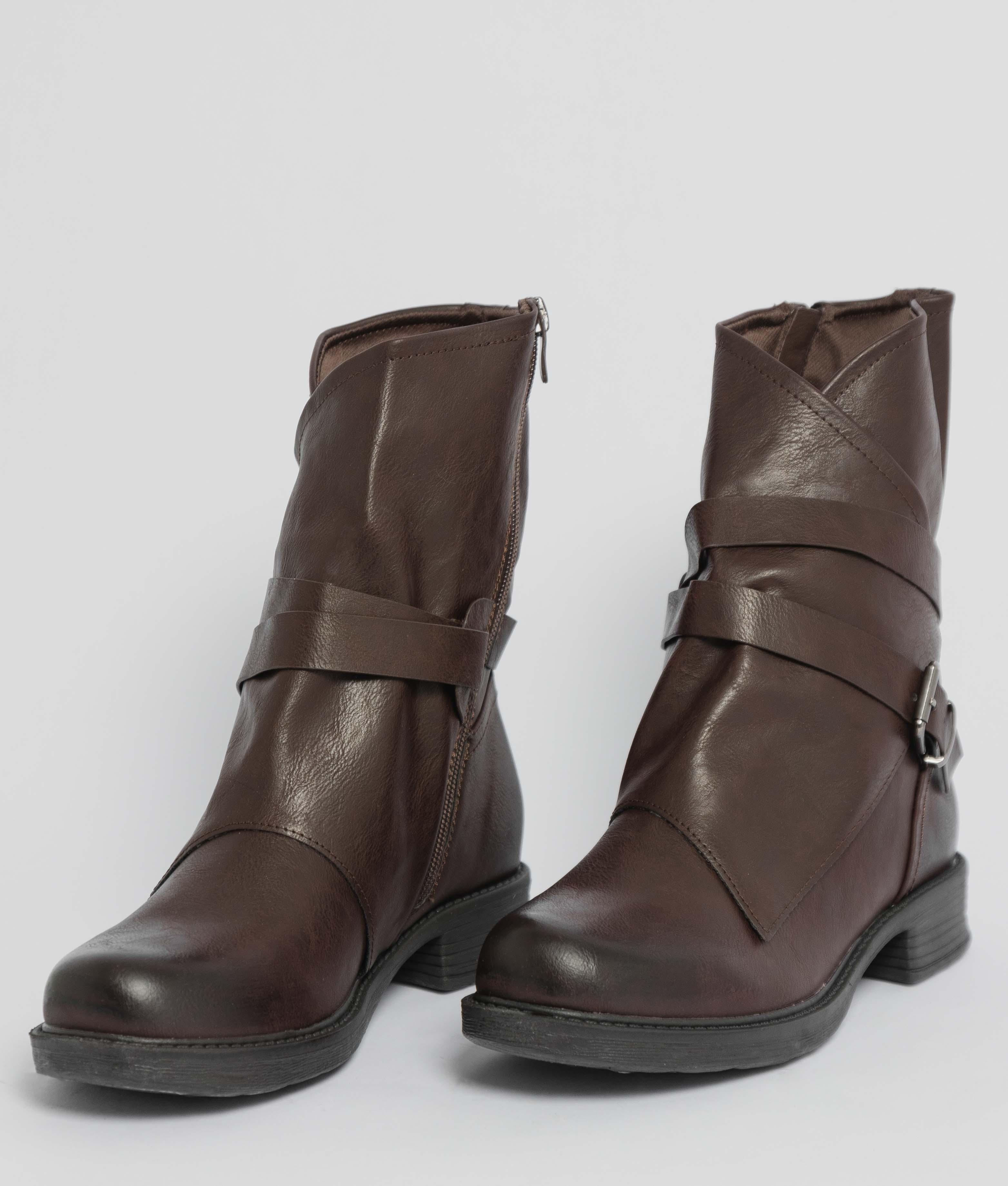Boot Petite Crop - Marron