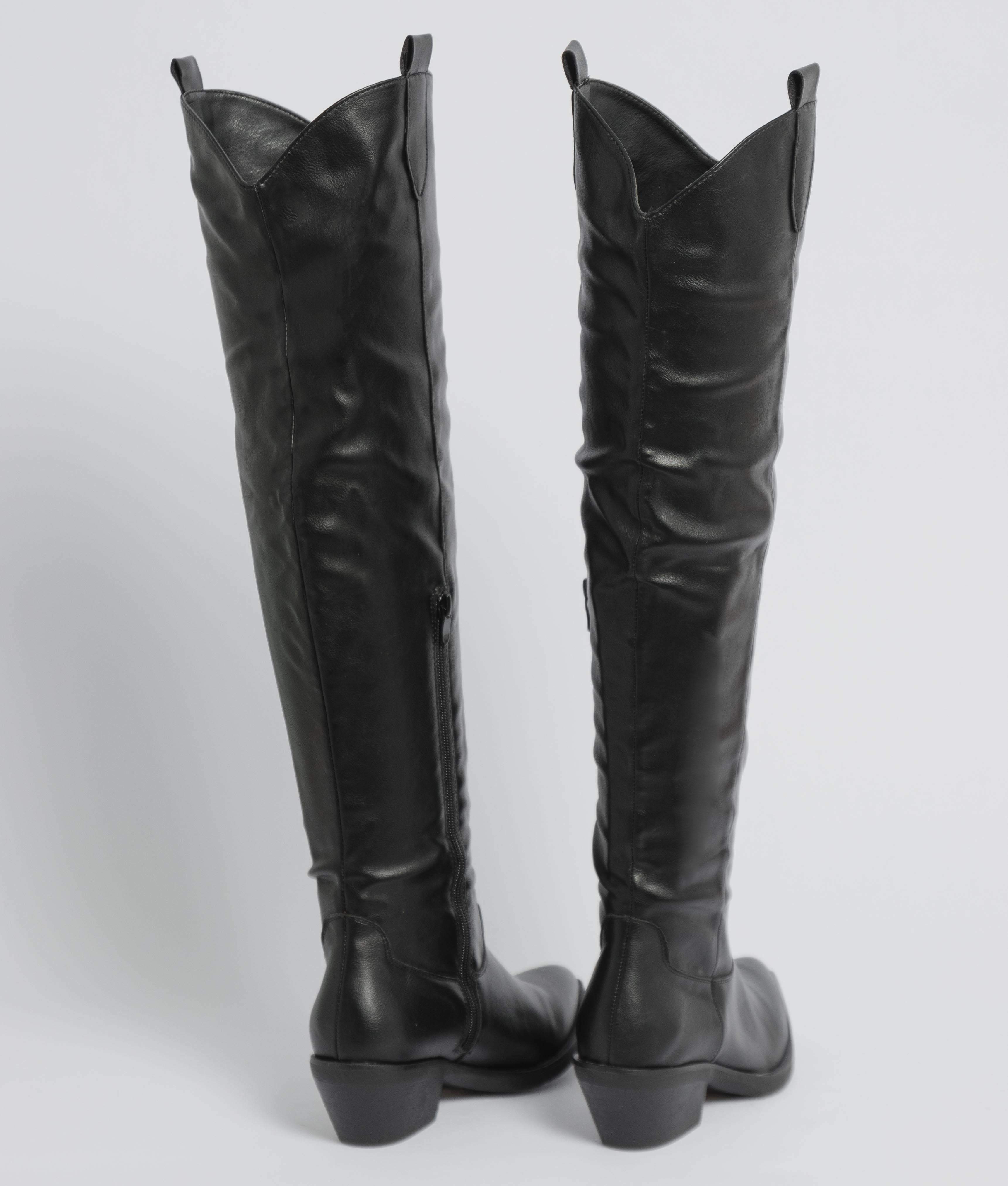 Knee-Lenght Boot Luxen - Black