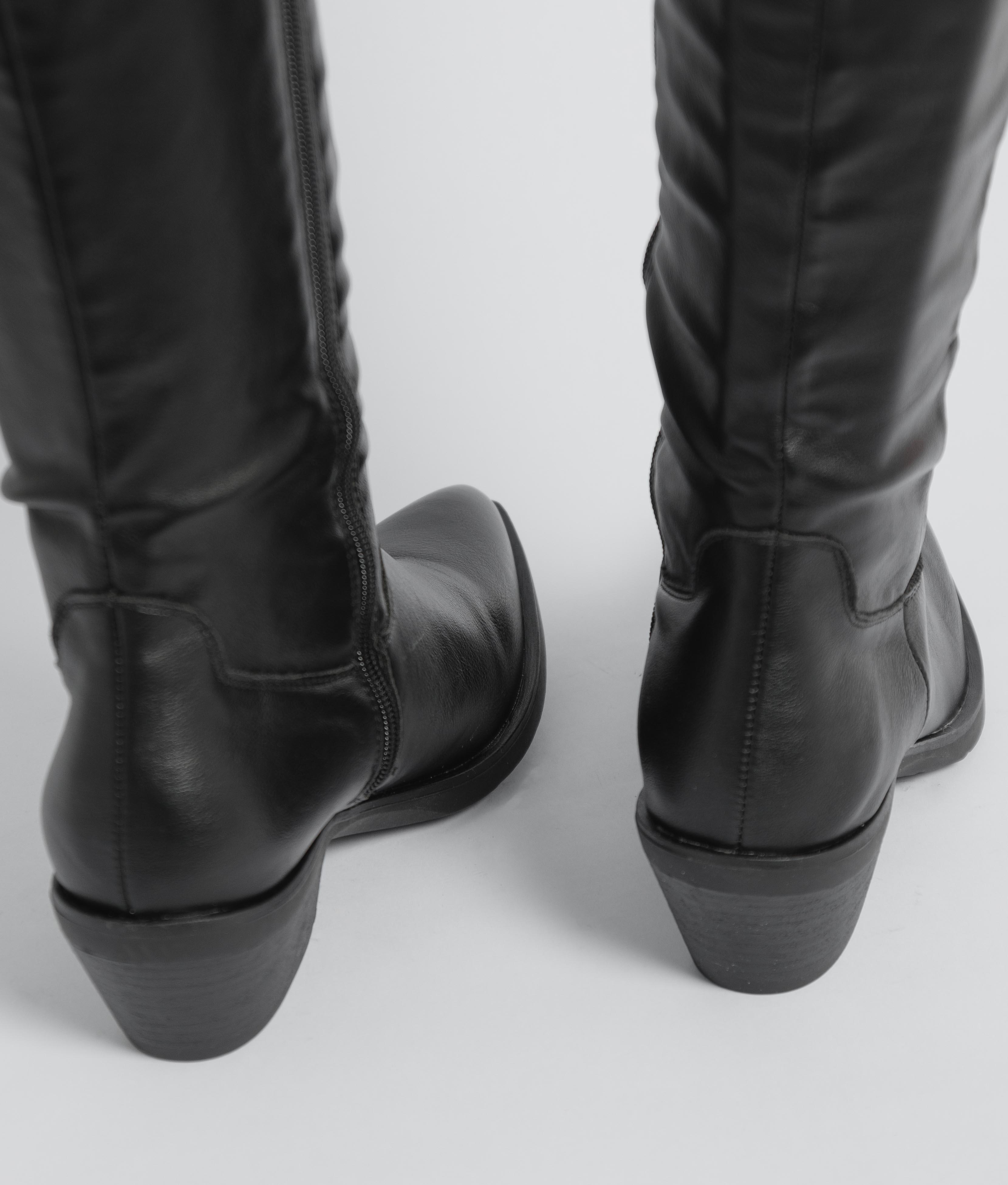 Bota Alta Luxen - Negro