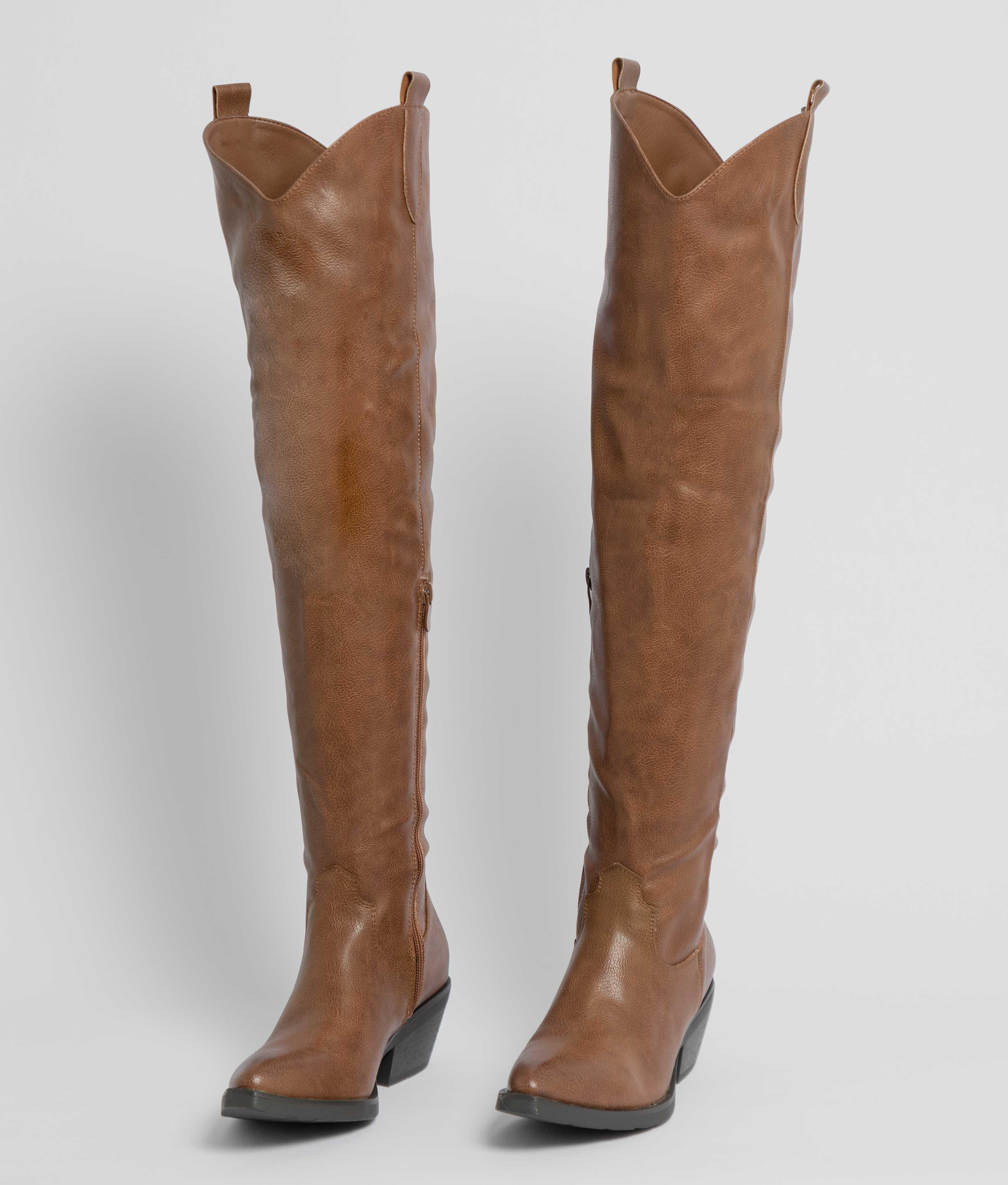 Knee-Lenght Boot Luxen - Camel