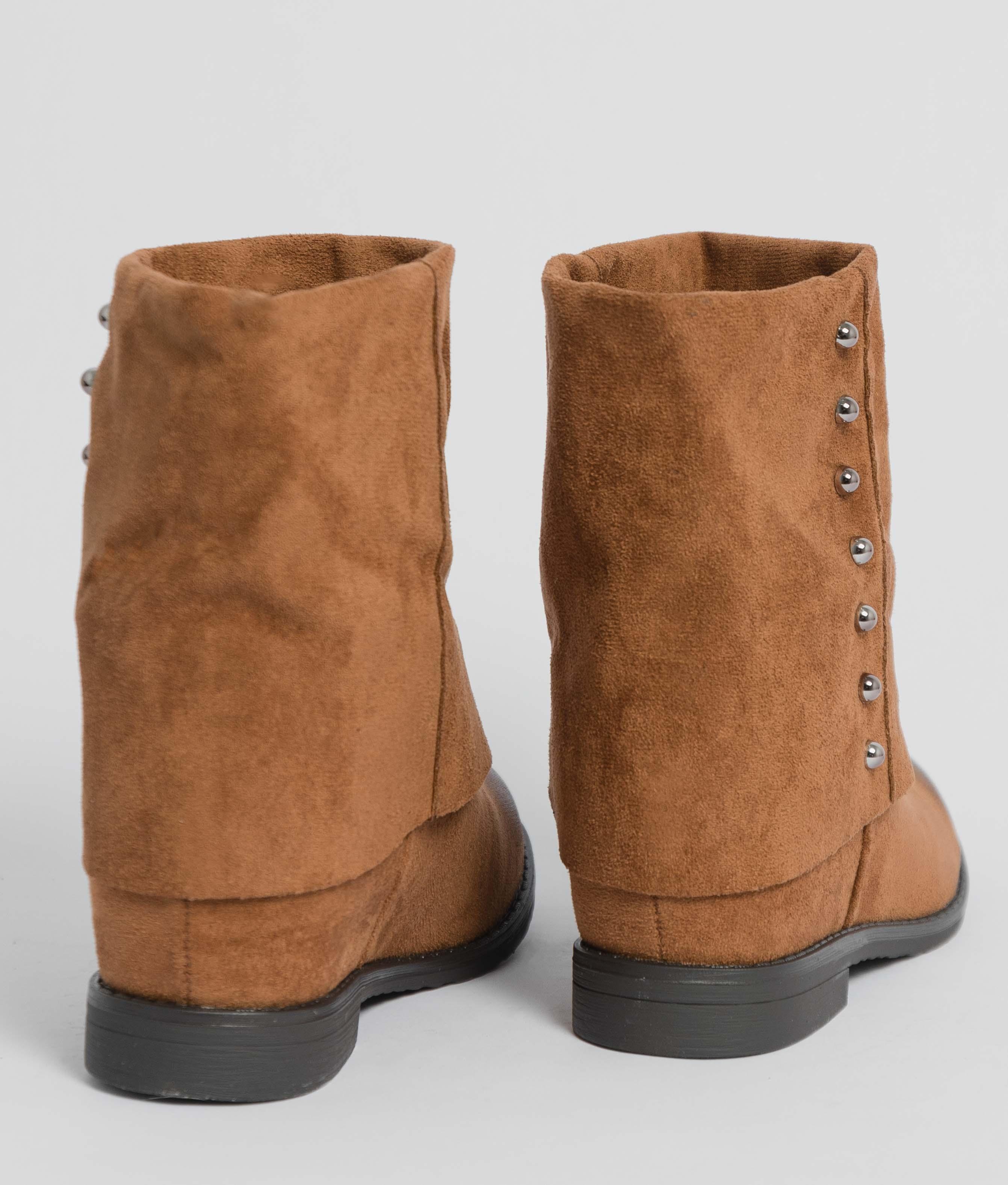 Low Boot Dumi - Camel