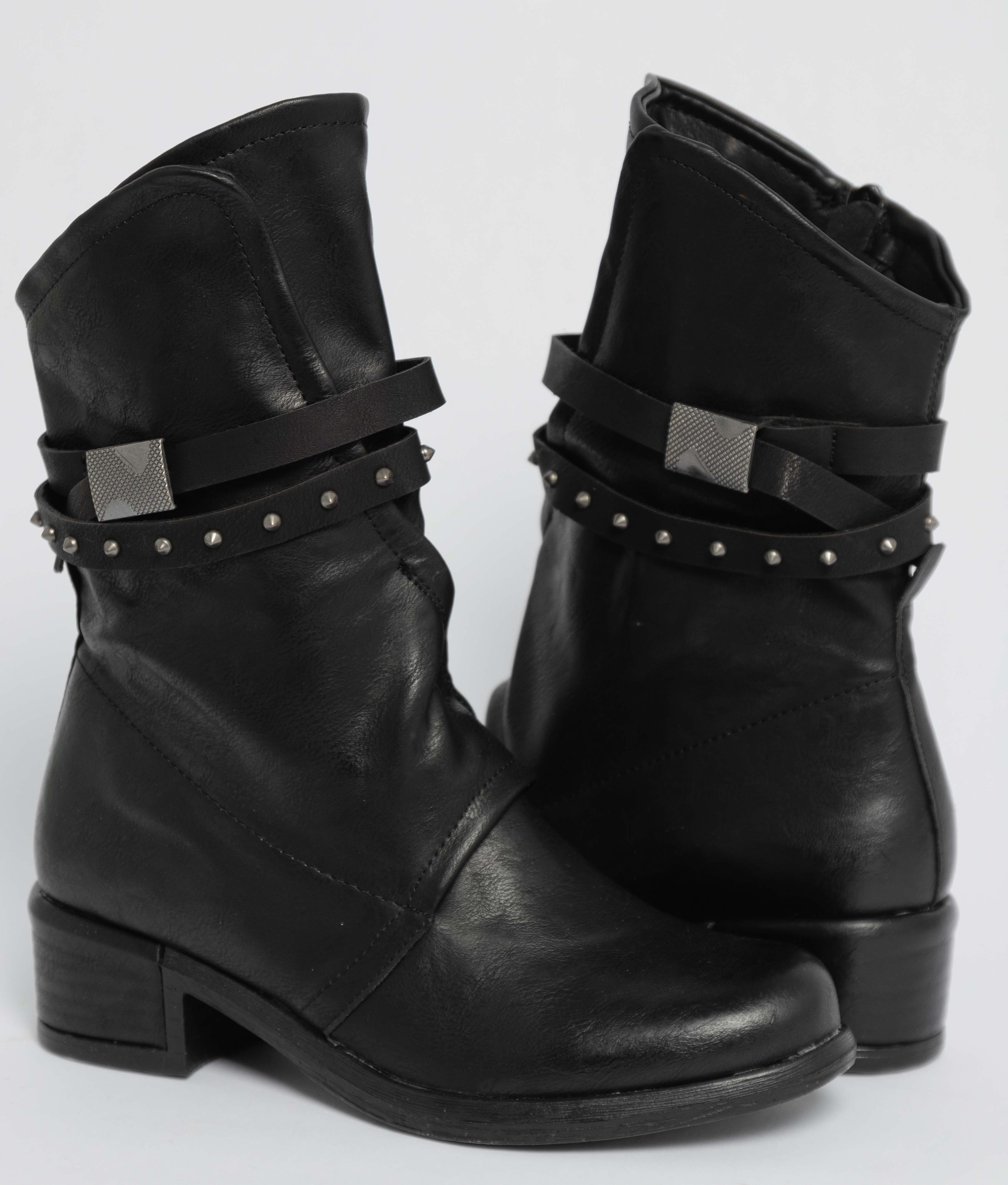 Low Boot Anet - Black