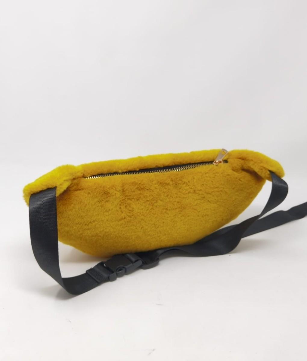 WAIST BAG GRY - YELLOW