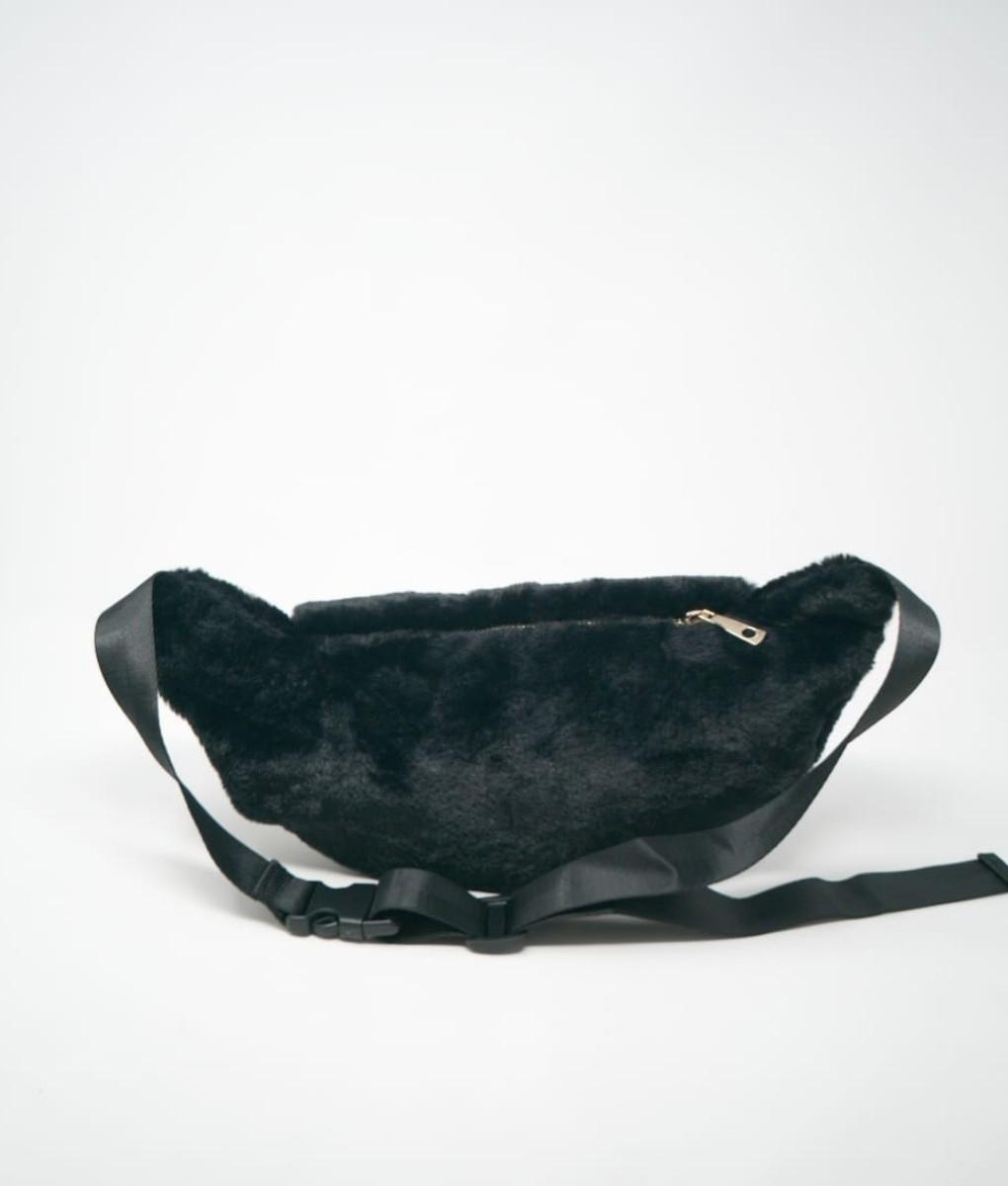 WAIST BAG GRY - NERO