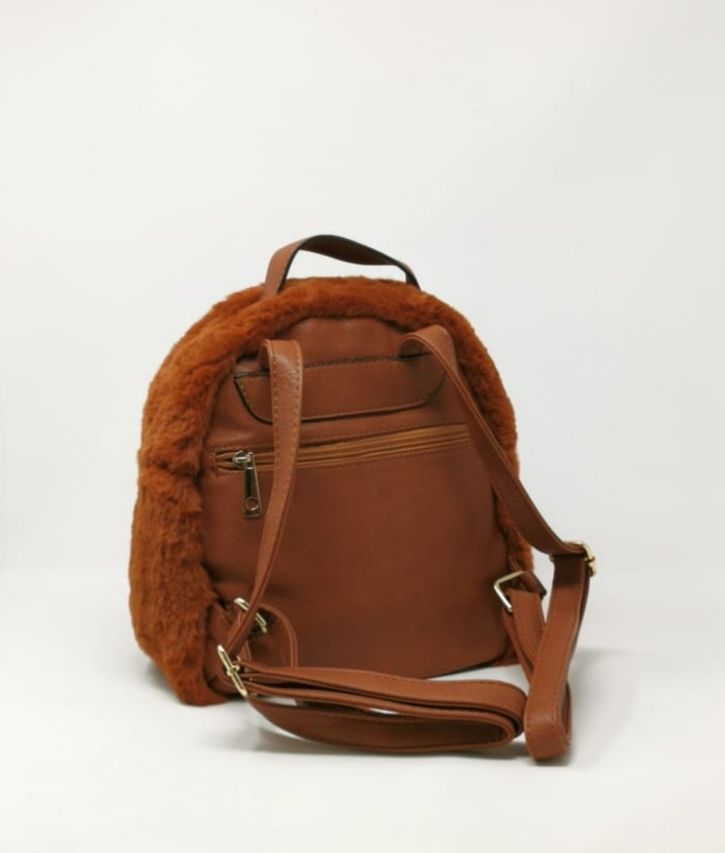 BACKPACK GRY- BROWN
