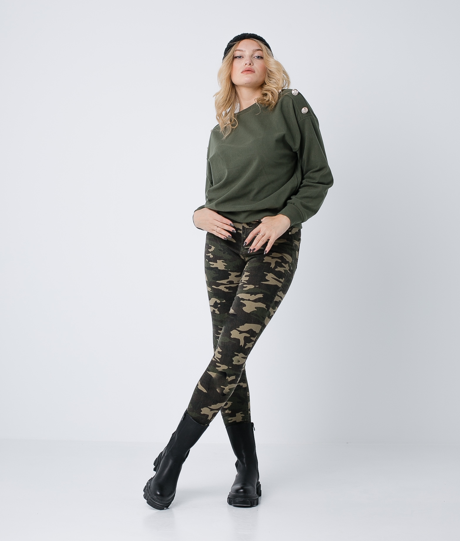 Pantalón Onut- Camouflage