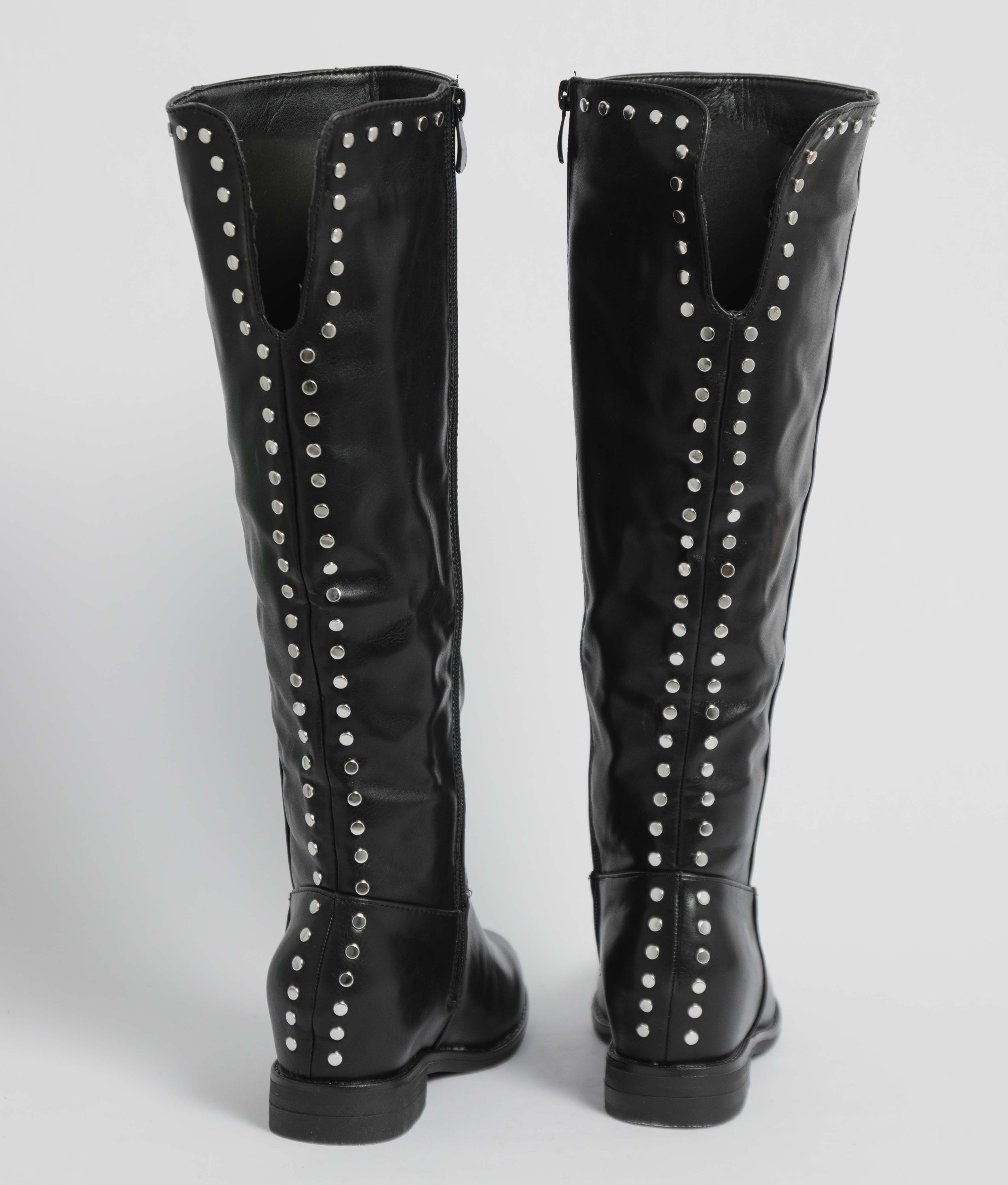Knee-Length Boot Bania - Black