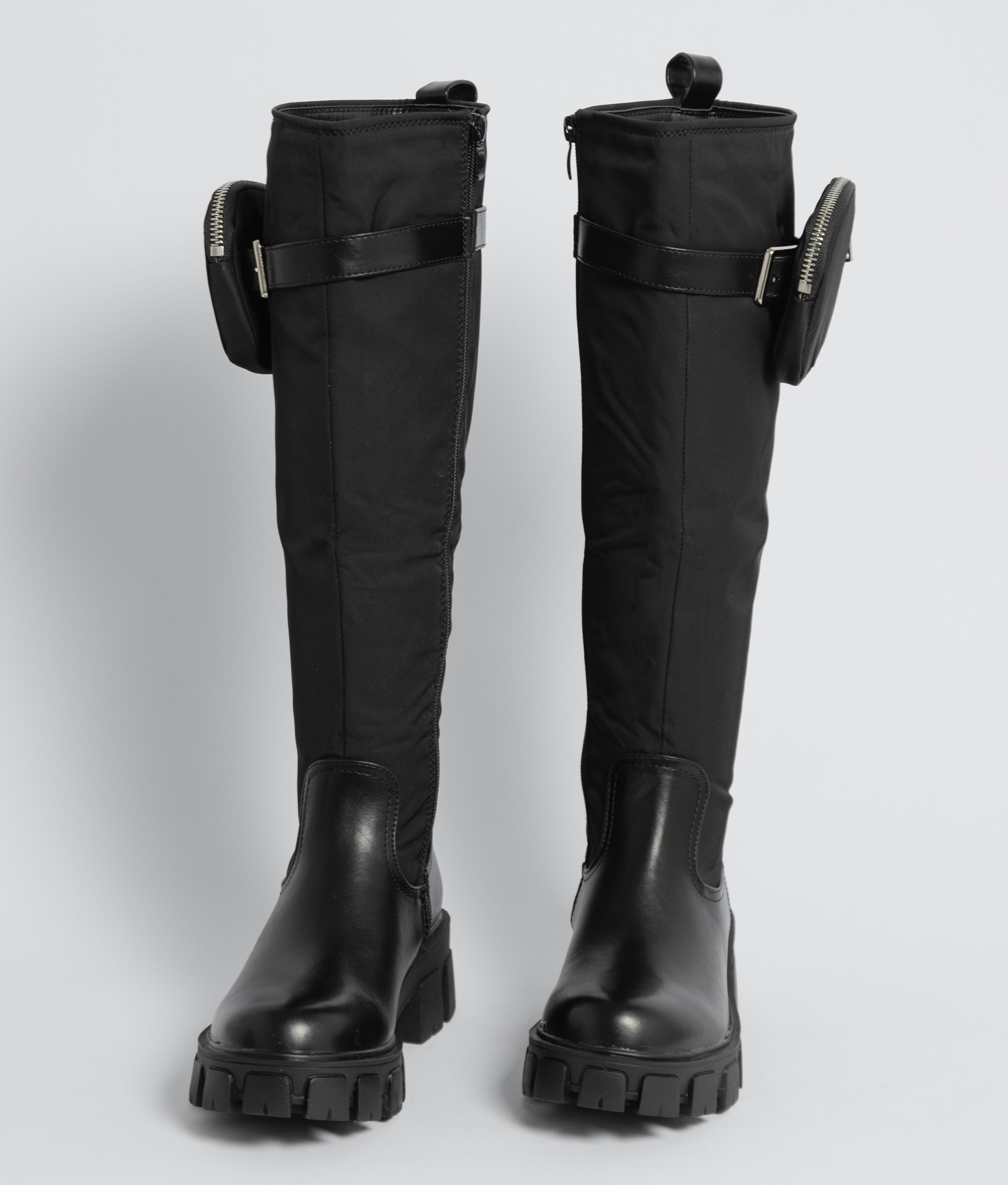 Knee-Length Boot Zorik - Black