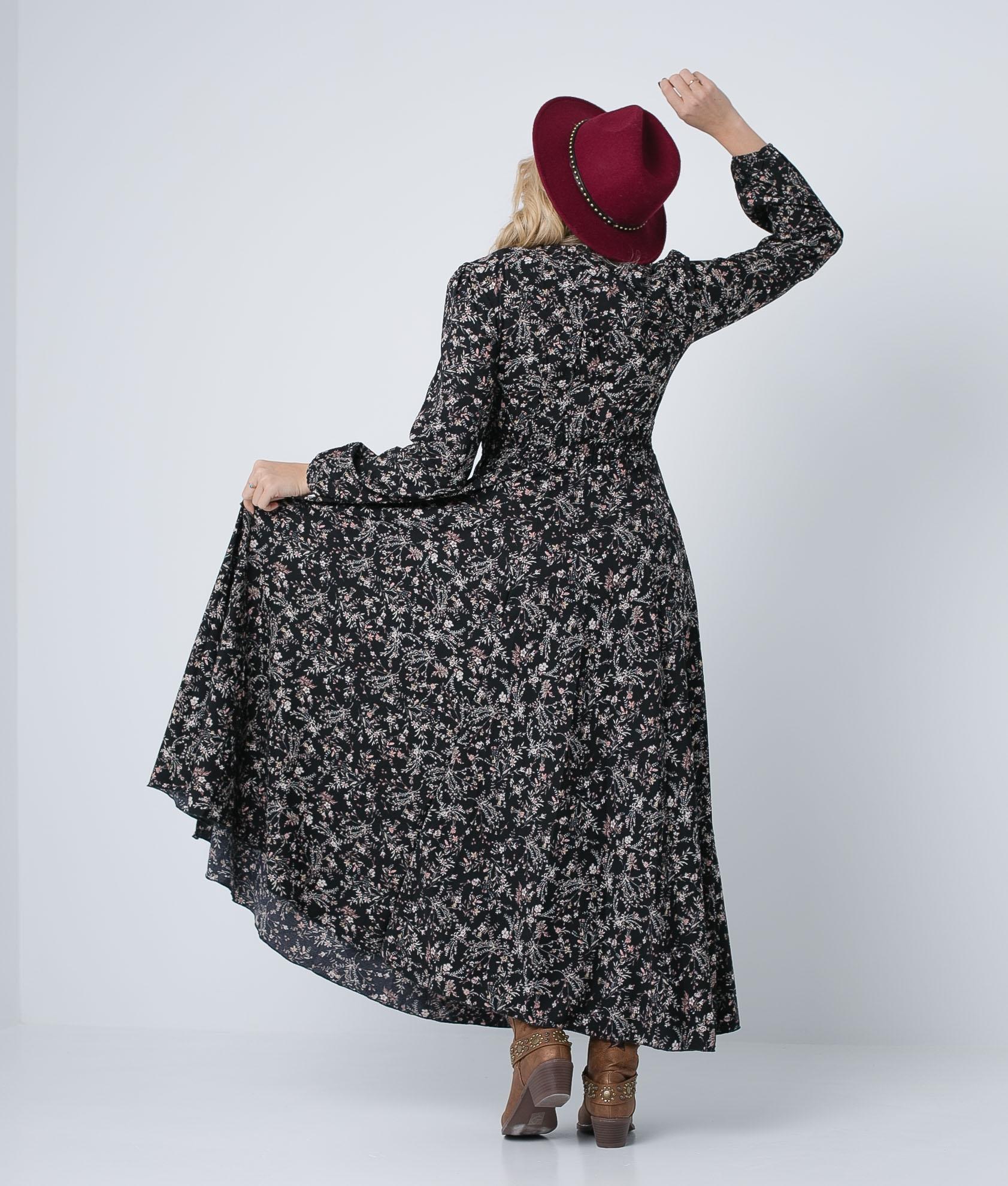 Vestido Numi - Preto