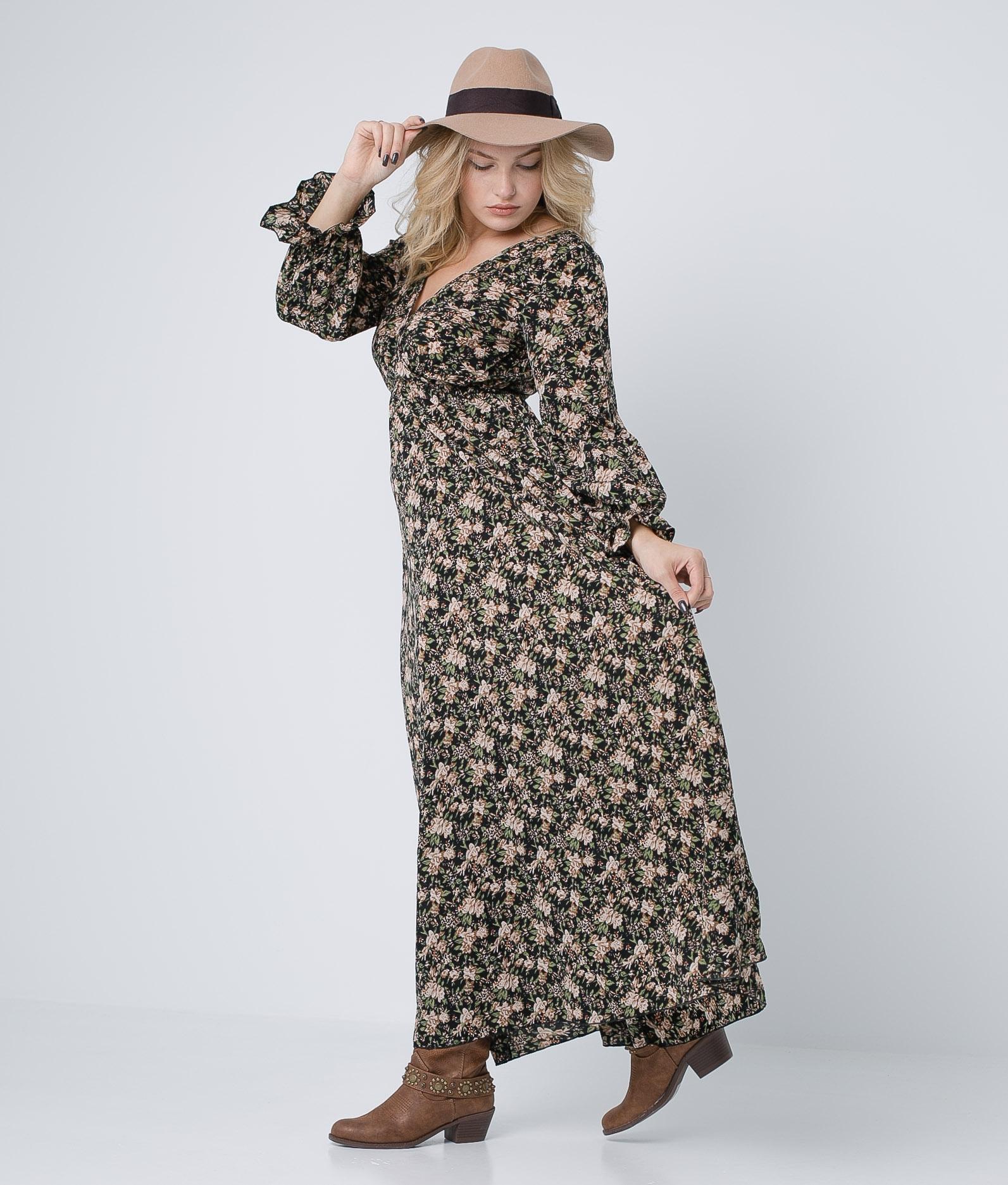 Vestido Orson - Preto