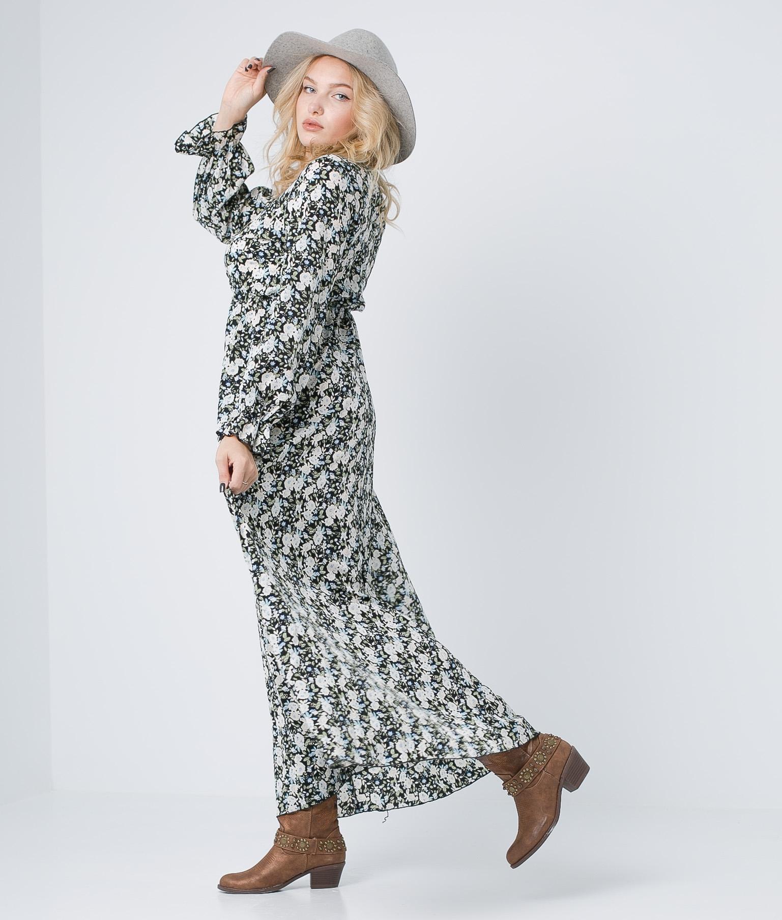 Vestido Navi - Preto