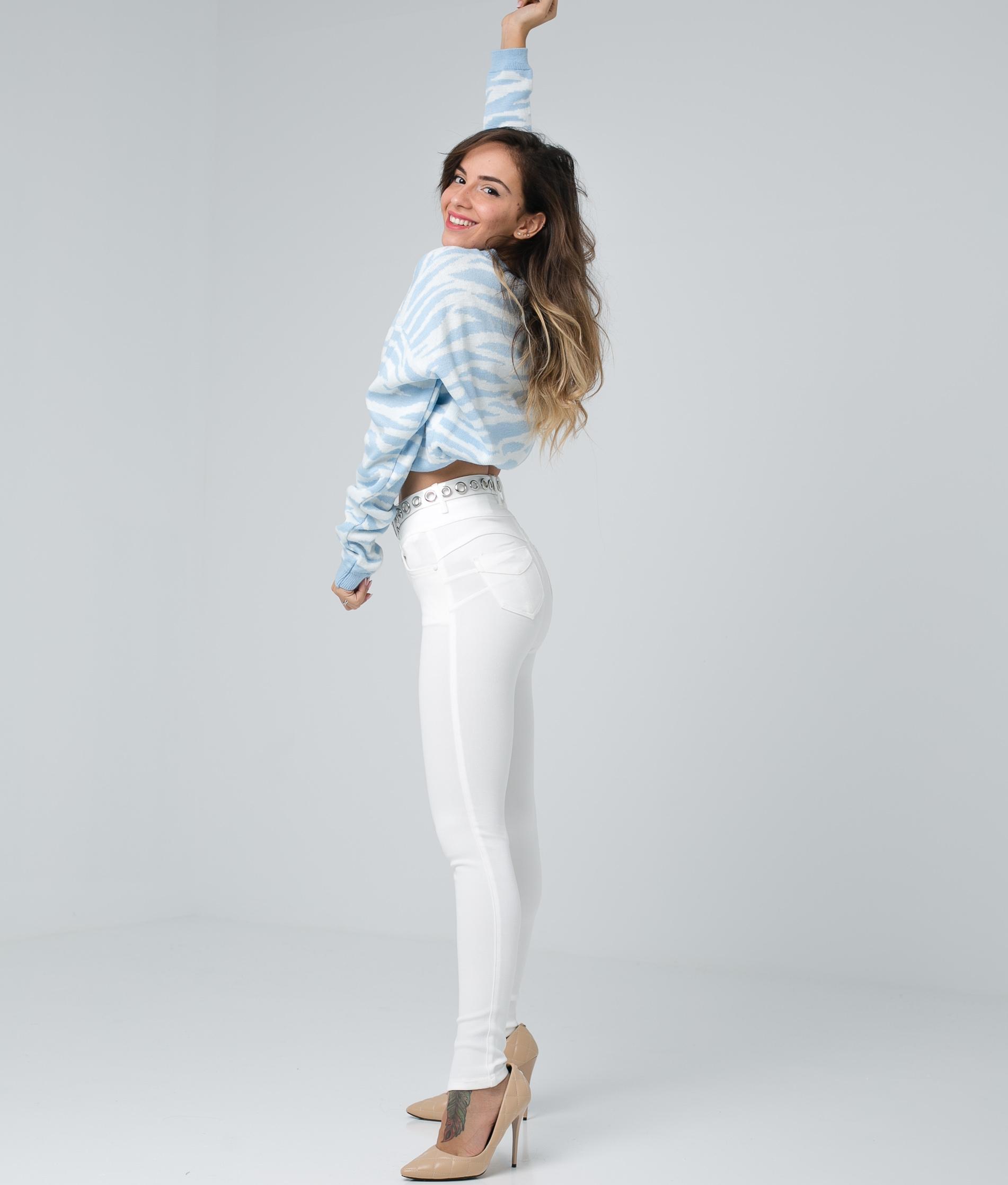 Pantaloni Subama - Blanco