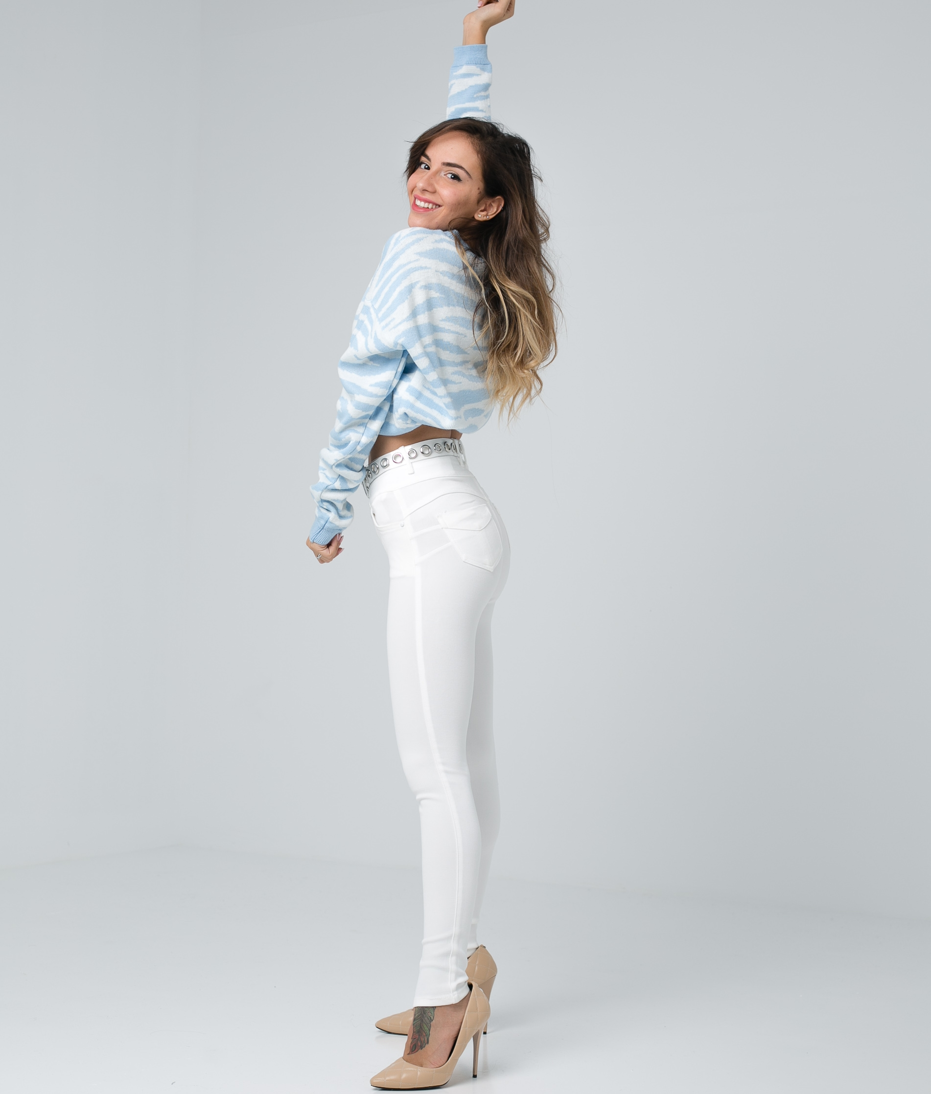 Trousers Subama - Blanco