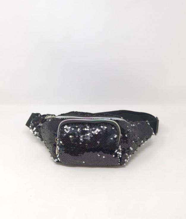 ria fanny pack - black