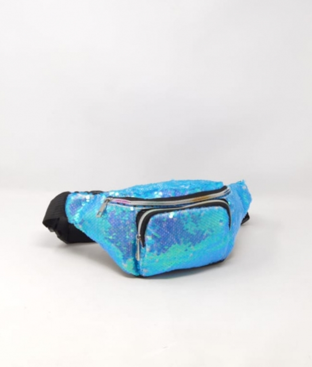 mochila ria - azul claro