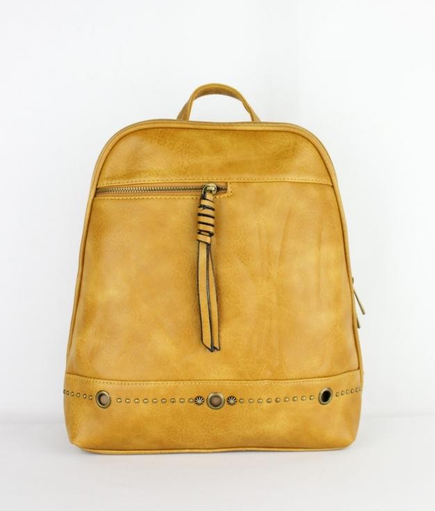 Backpack Rita - Mustard