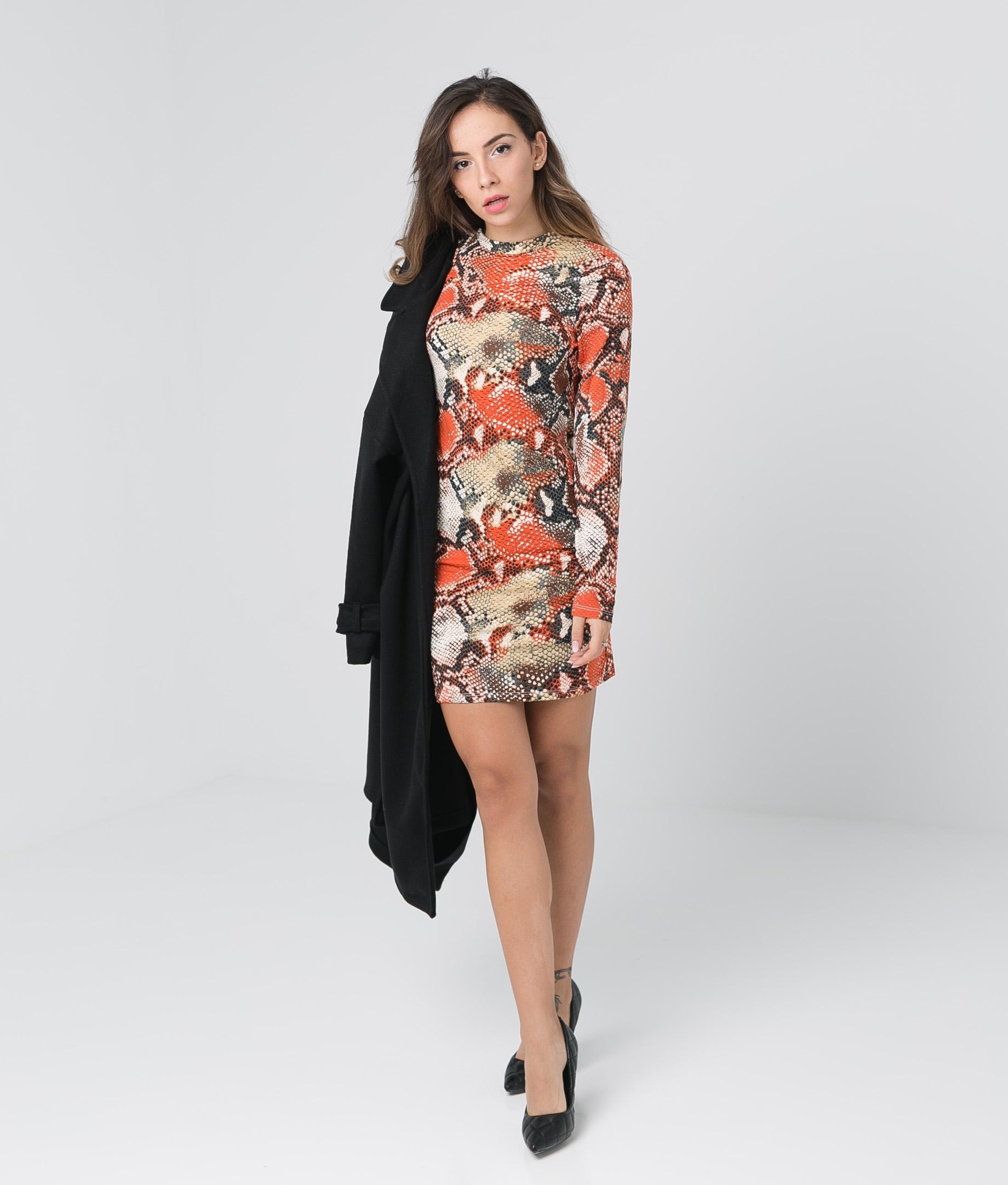 Vestido Yamin - Naranja