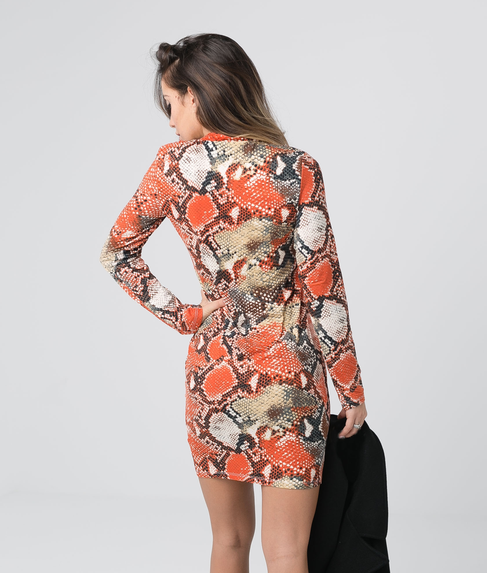 Vestido Yamin - Laranja