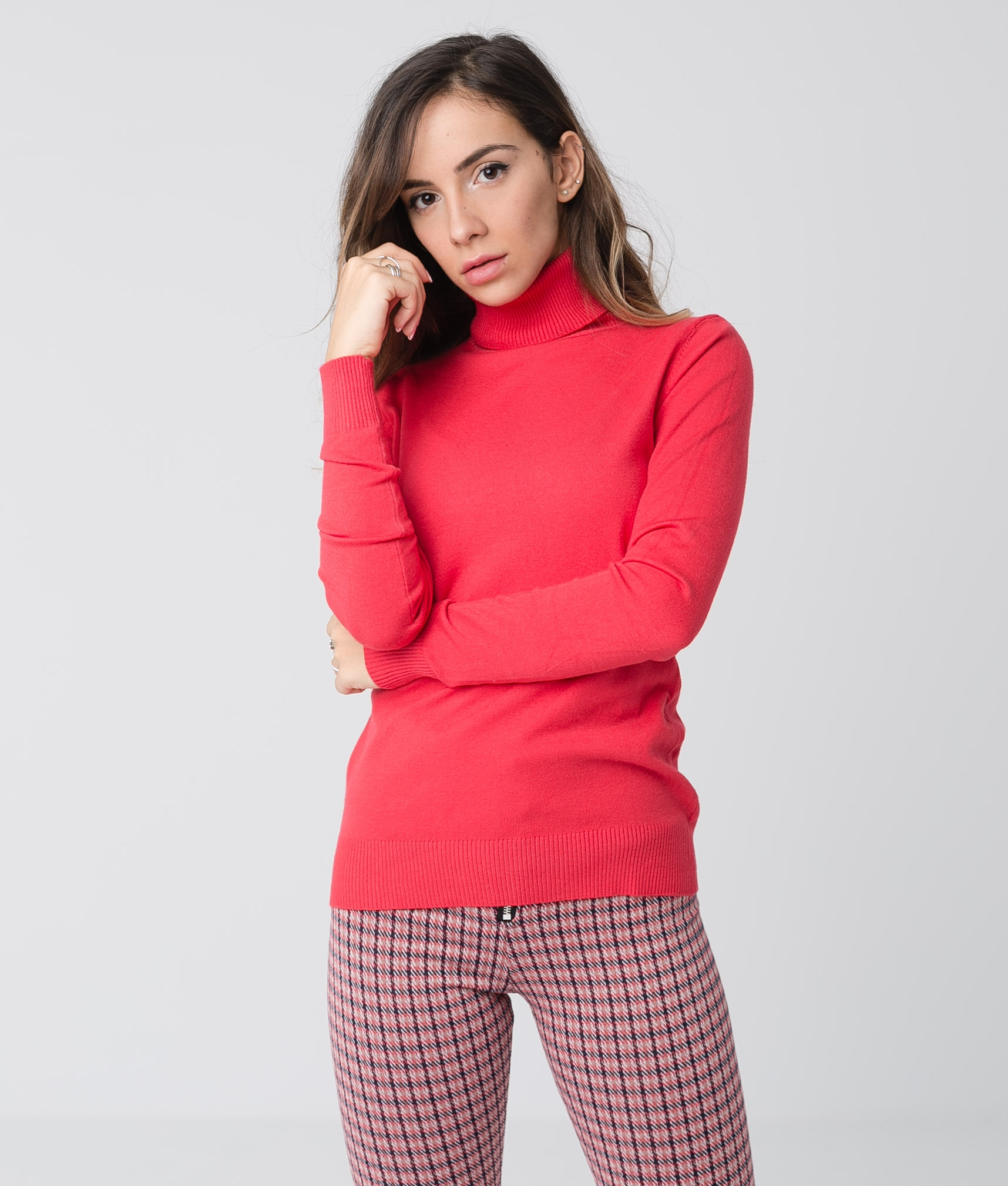 JERSEY GALENA - ROSSO