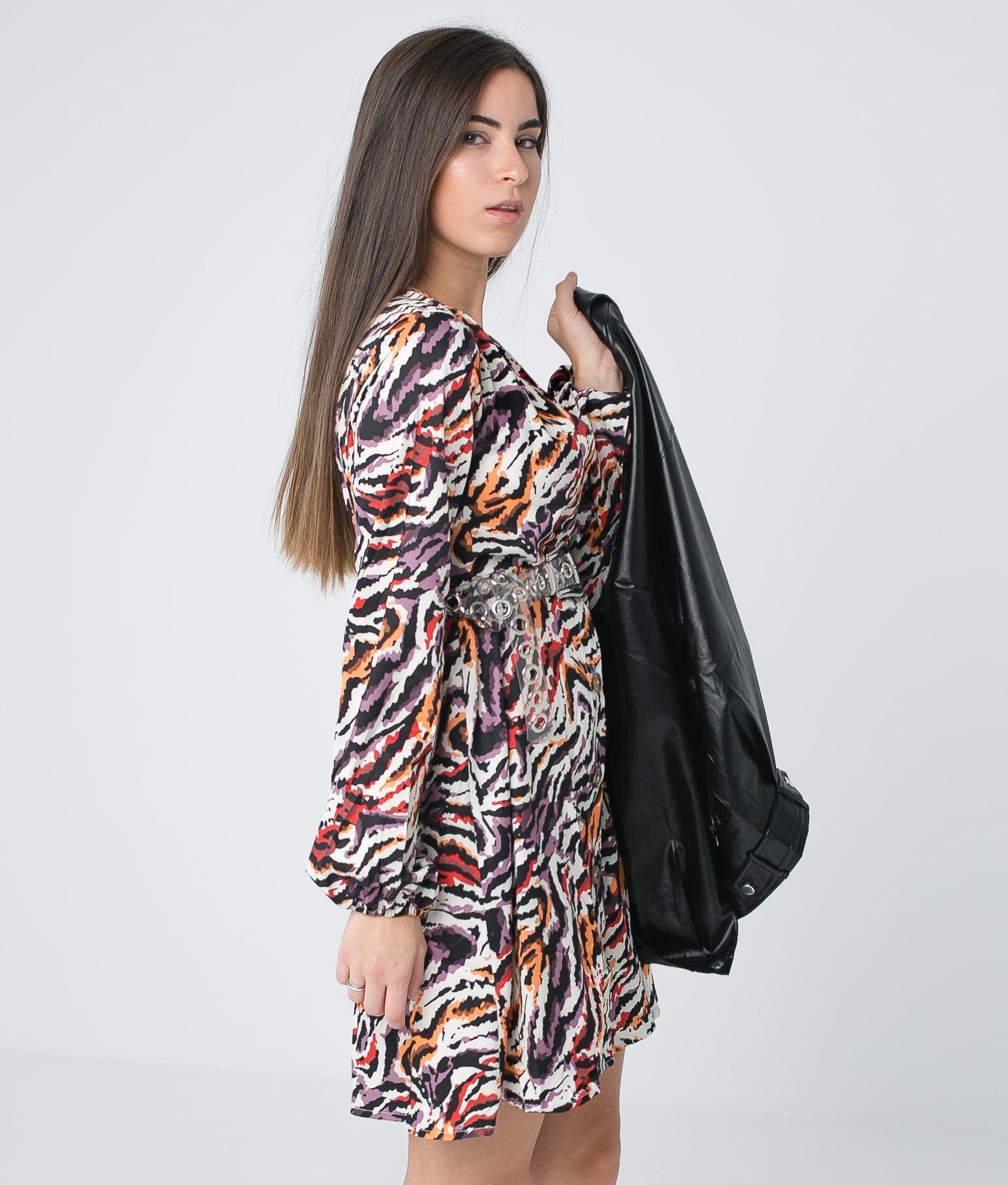 Vestido Lakio - Multicolorido