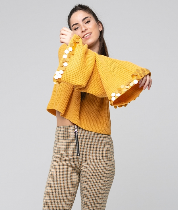 Sweater Marte - Yellow