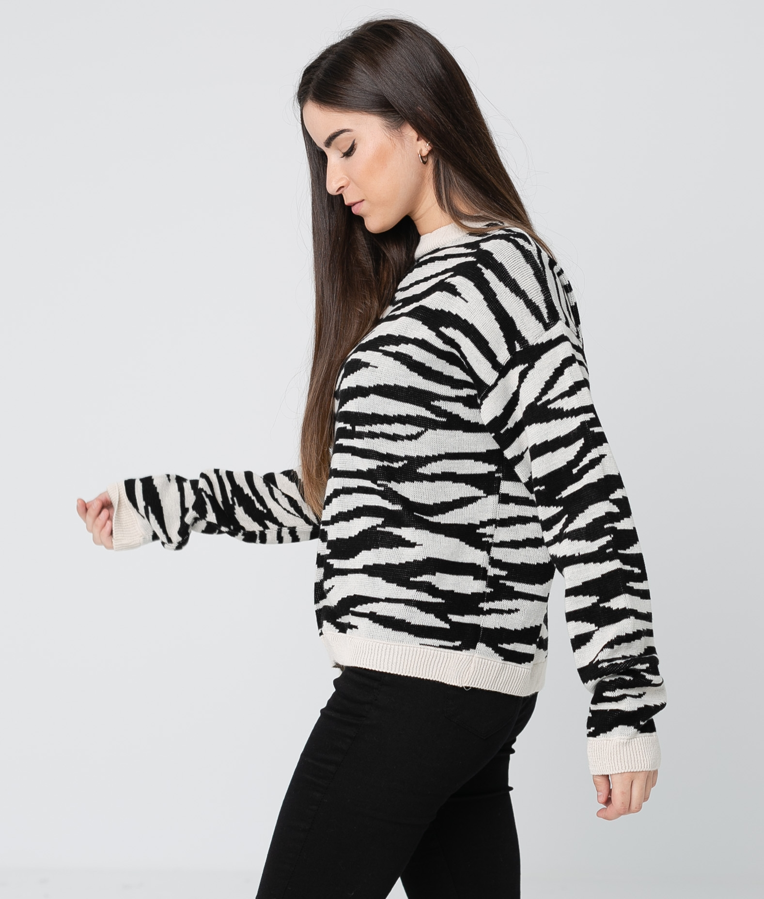 Sweater Basha - WHITE